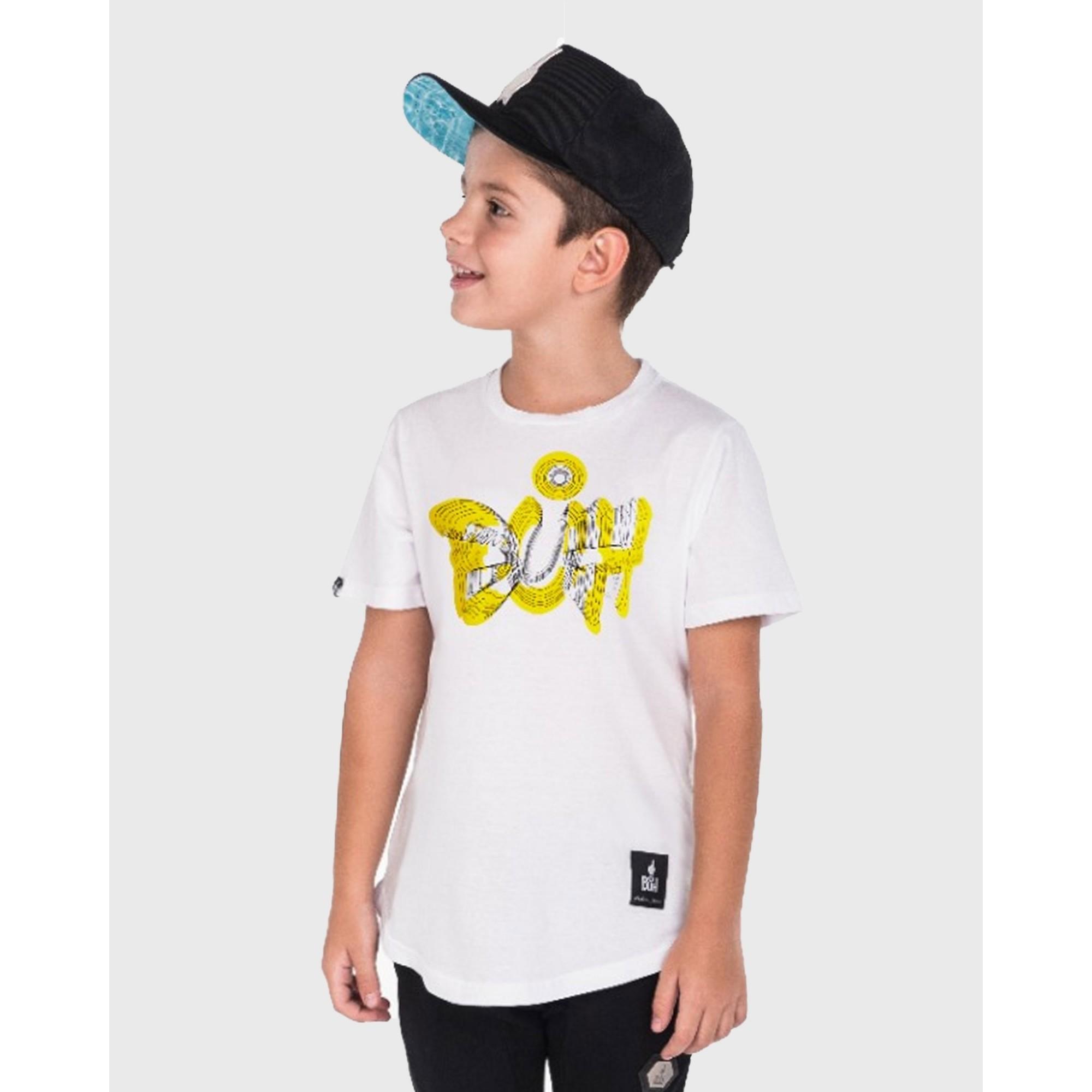 Camiseta Buh Kids Óptica White