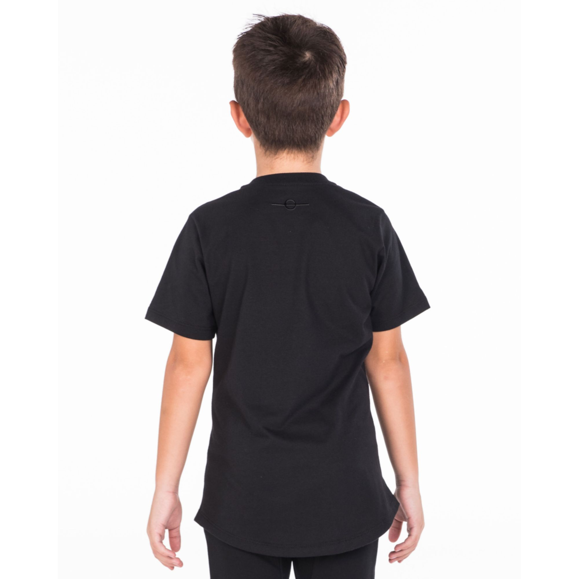 Camiseta Buh Kids Patches Black