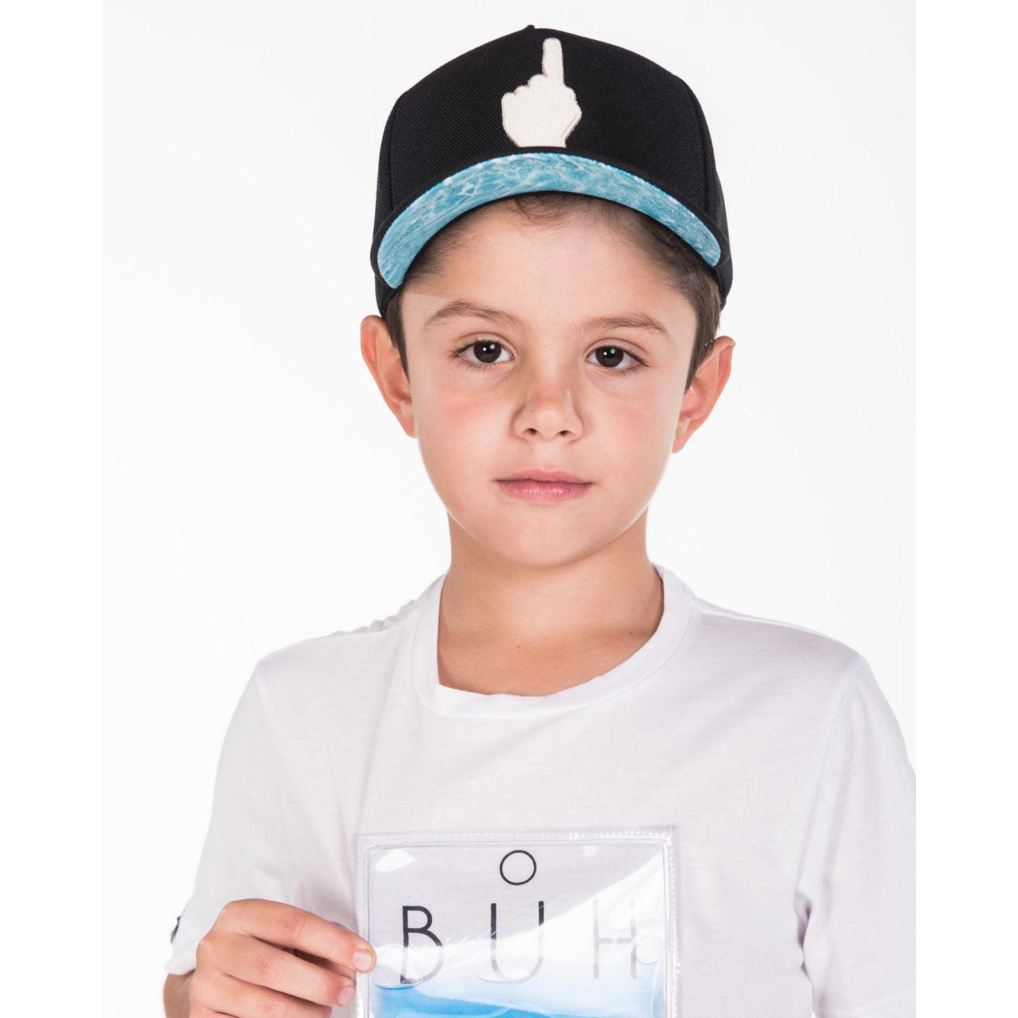 Camiseta Buh Kids Plastic Gel Água White