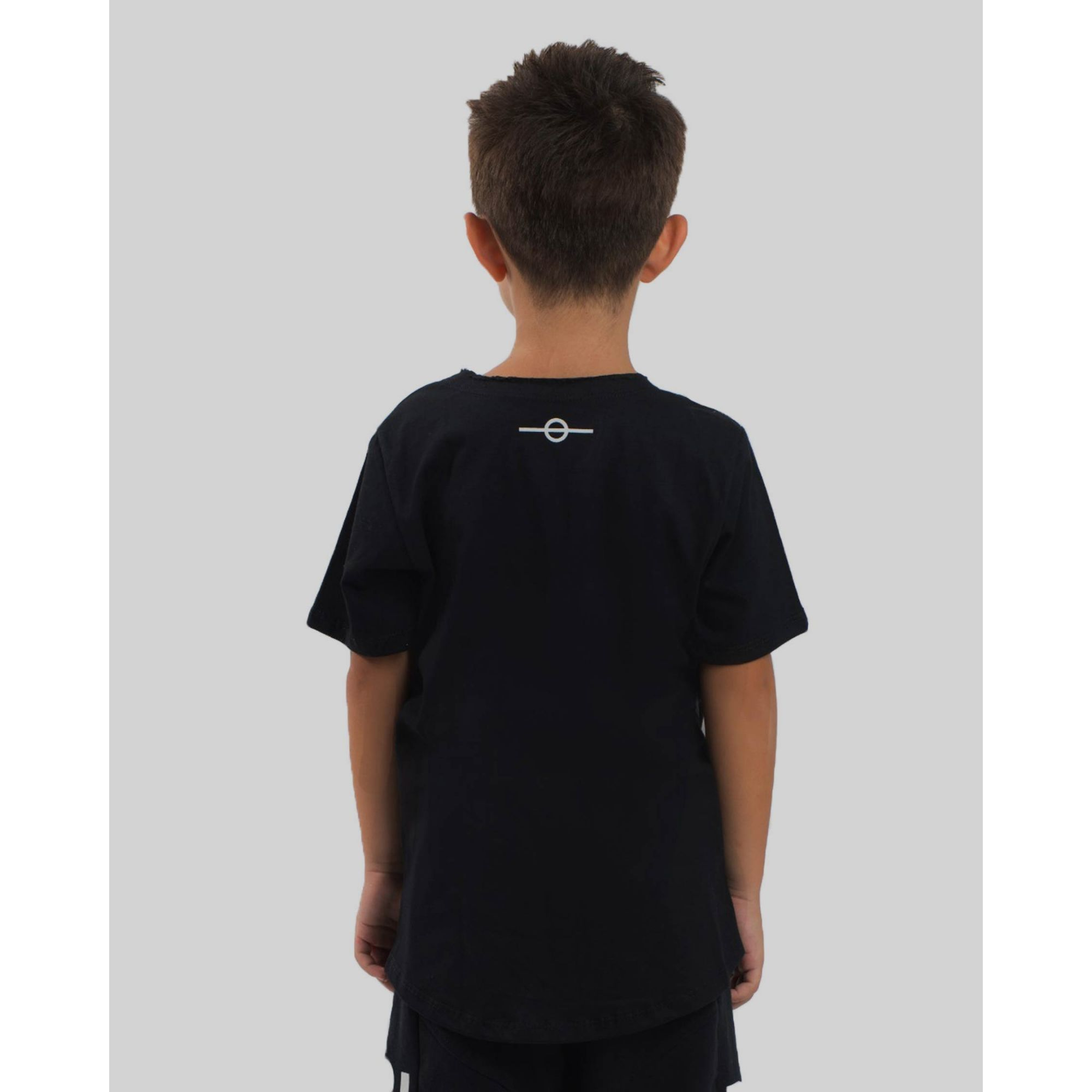 Camiseta Buh Kids Relevo Black
