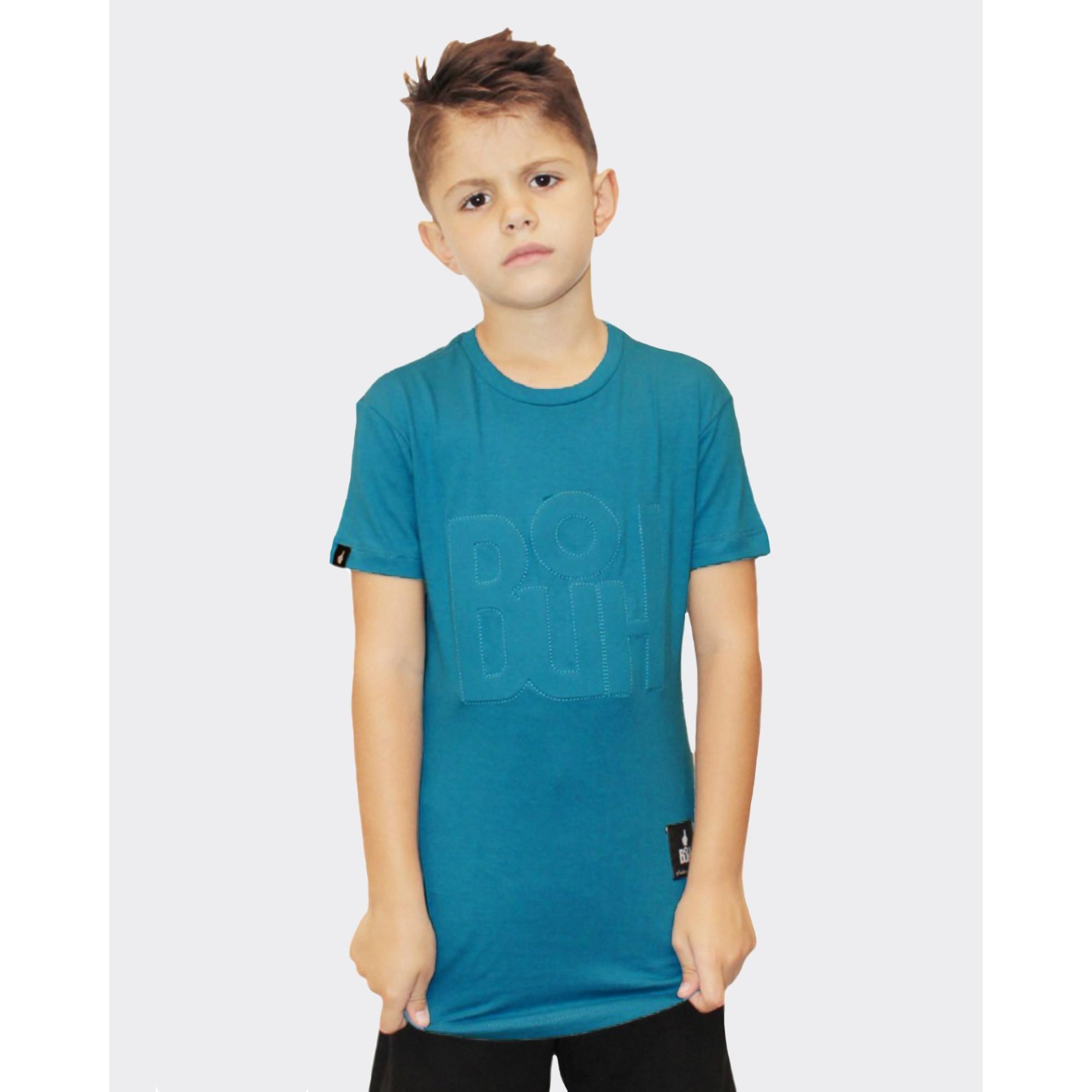 Camiseta Buh Kids Relevo Blue