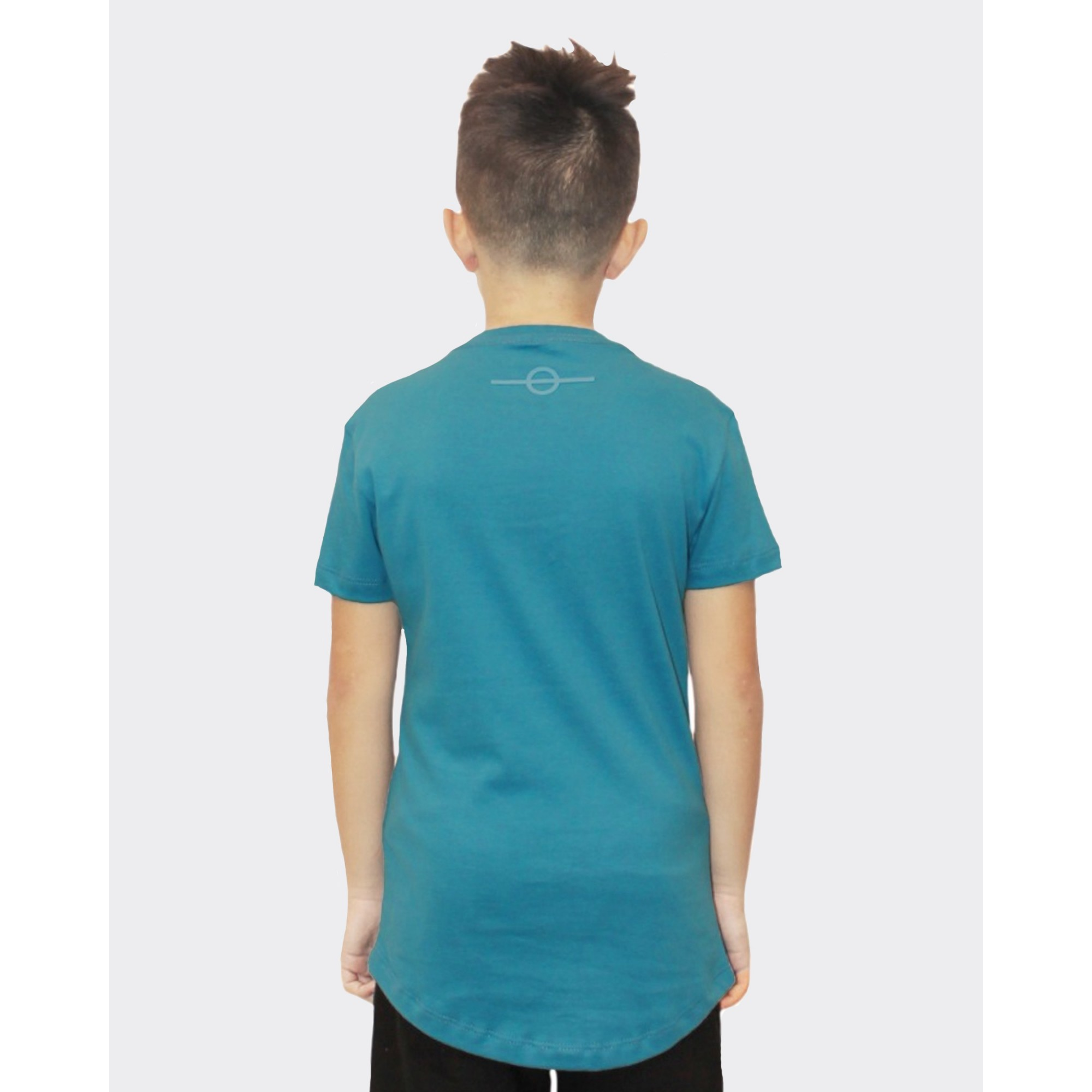Camiseta Buh Kids Relevo Blue
