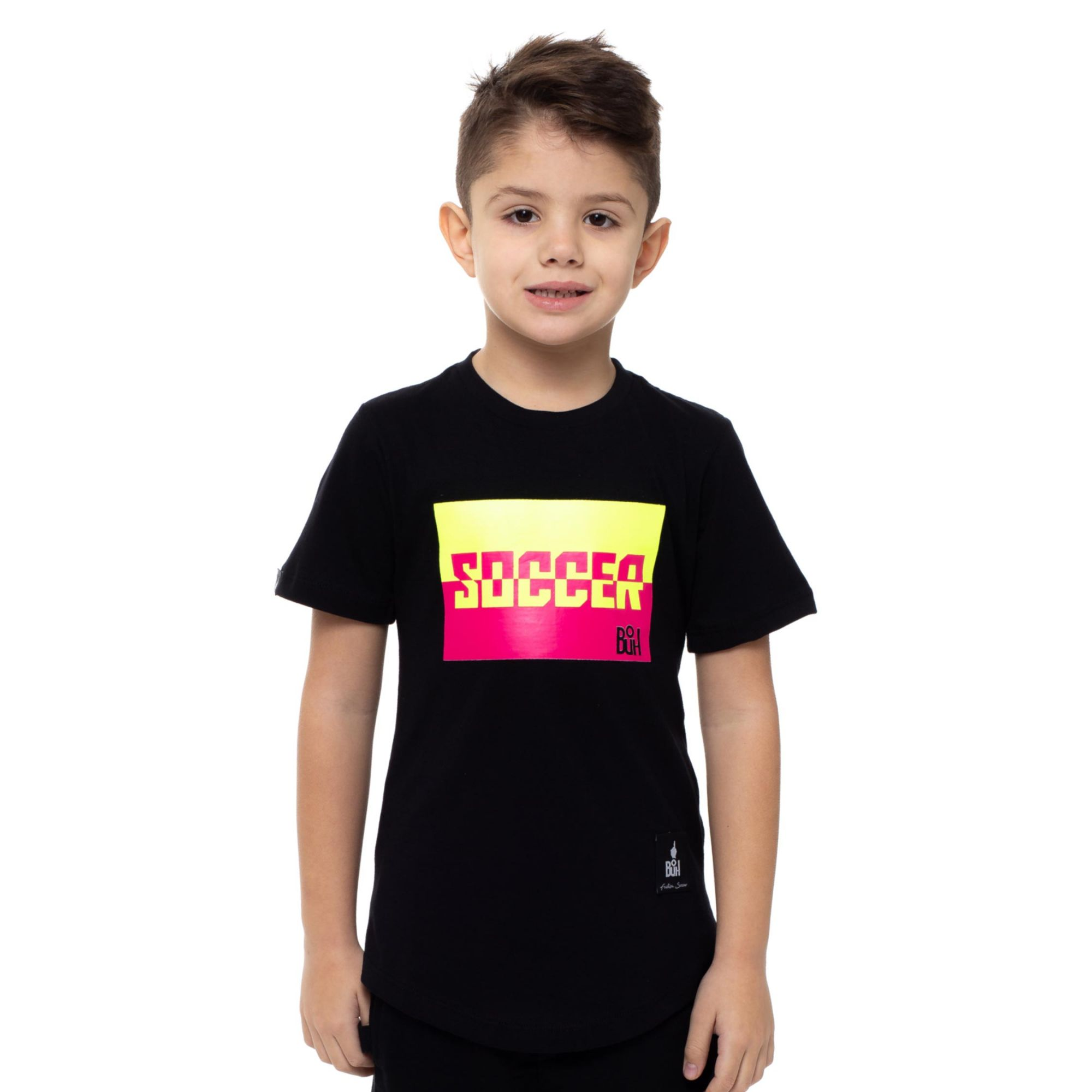 Camiseta Buh Kids Soccer Color Black