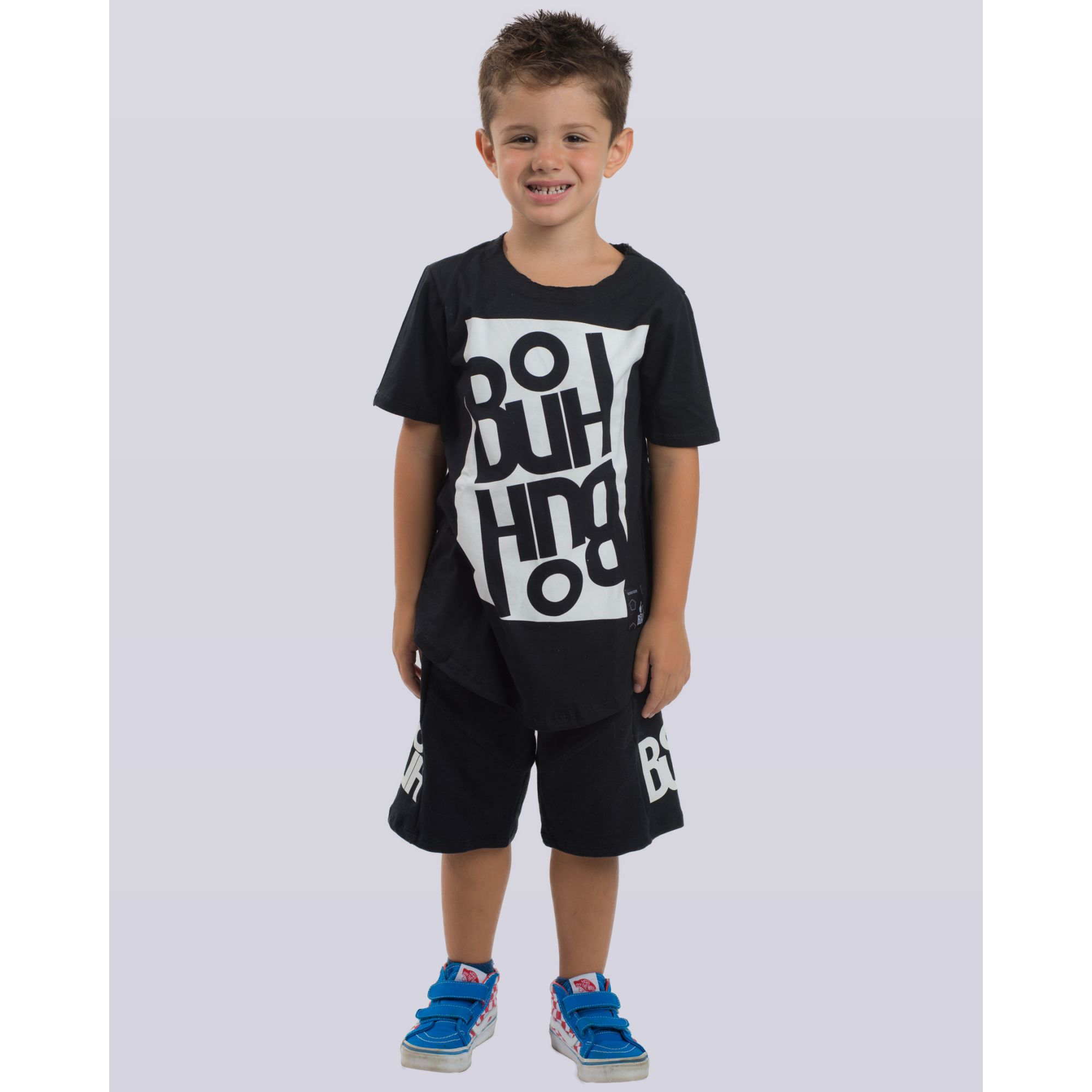 Camiseta Buh Kids Square II Black