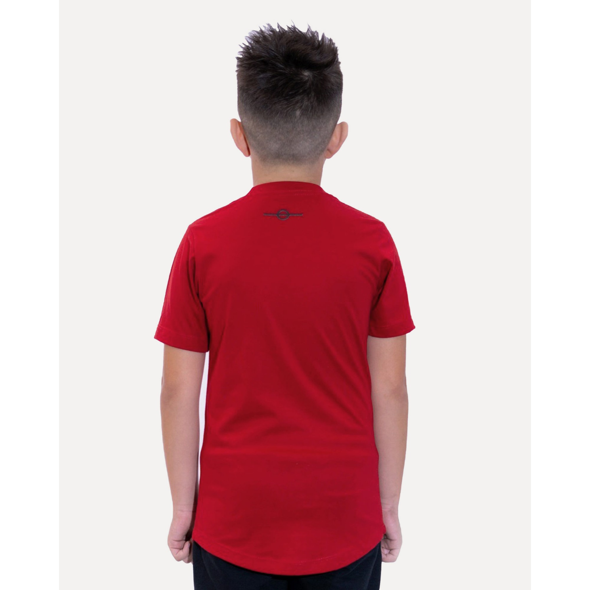 Camiseta Buh Kids Strass Logo Red