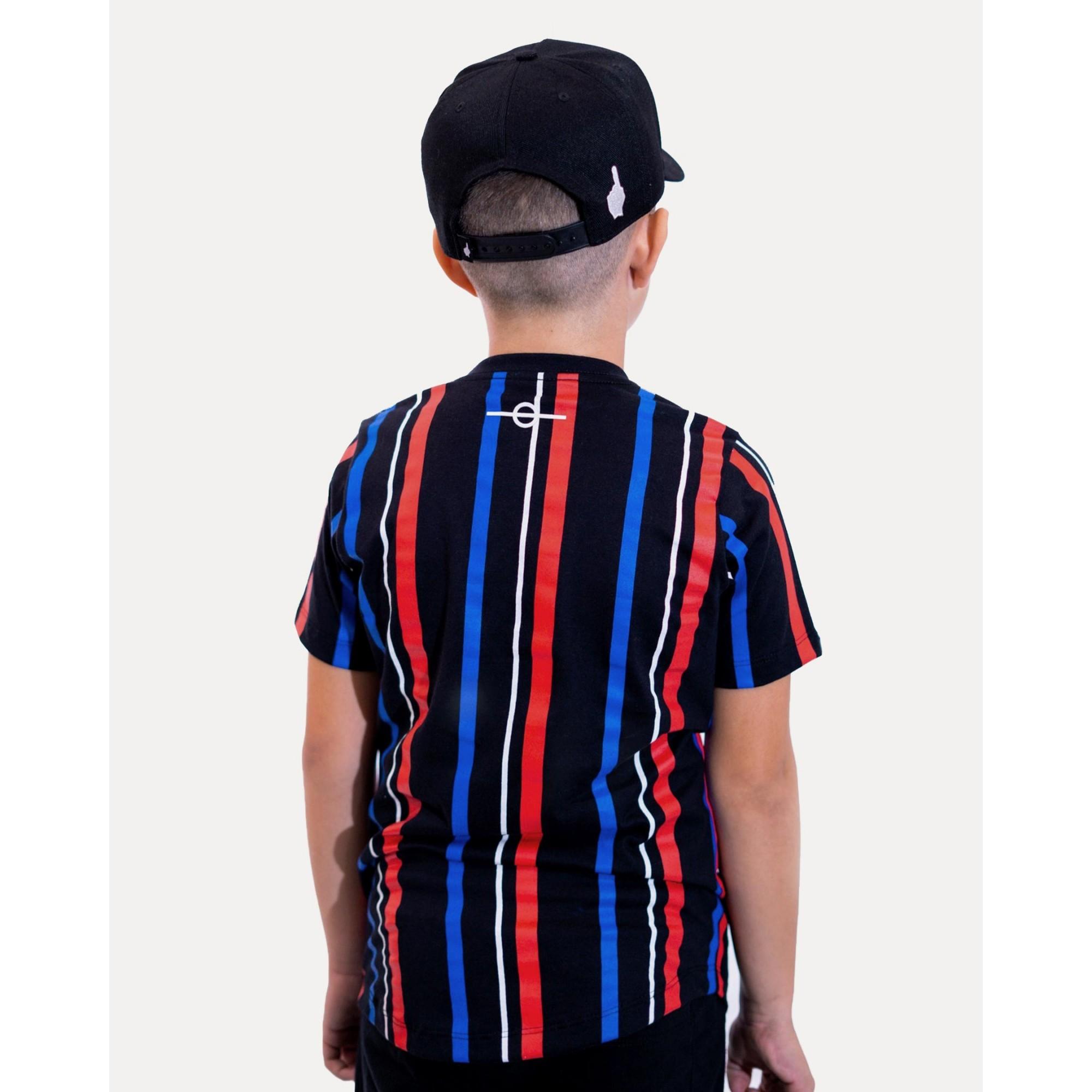 Camiseta Buh Kids Stripes HQ Black