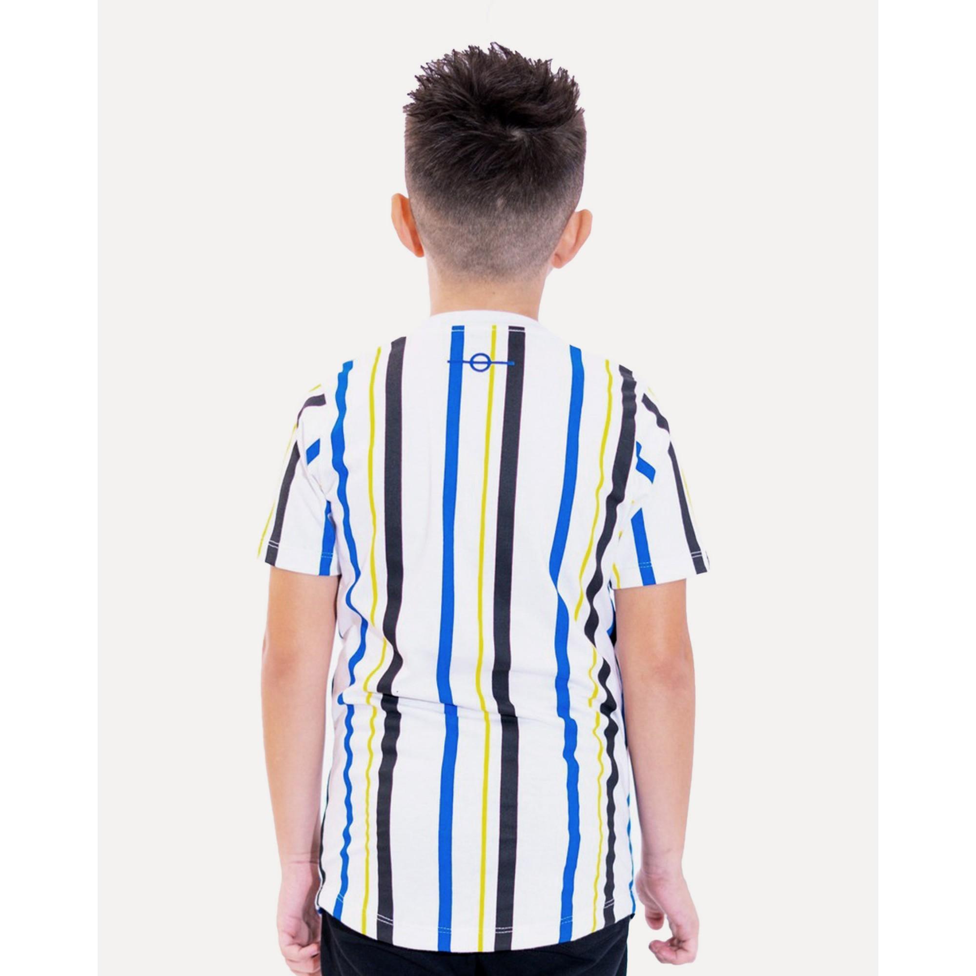 Camiseta Buh Kids Stripes HQ White