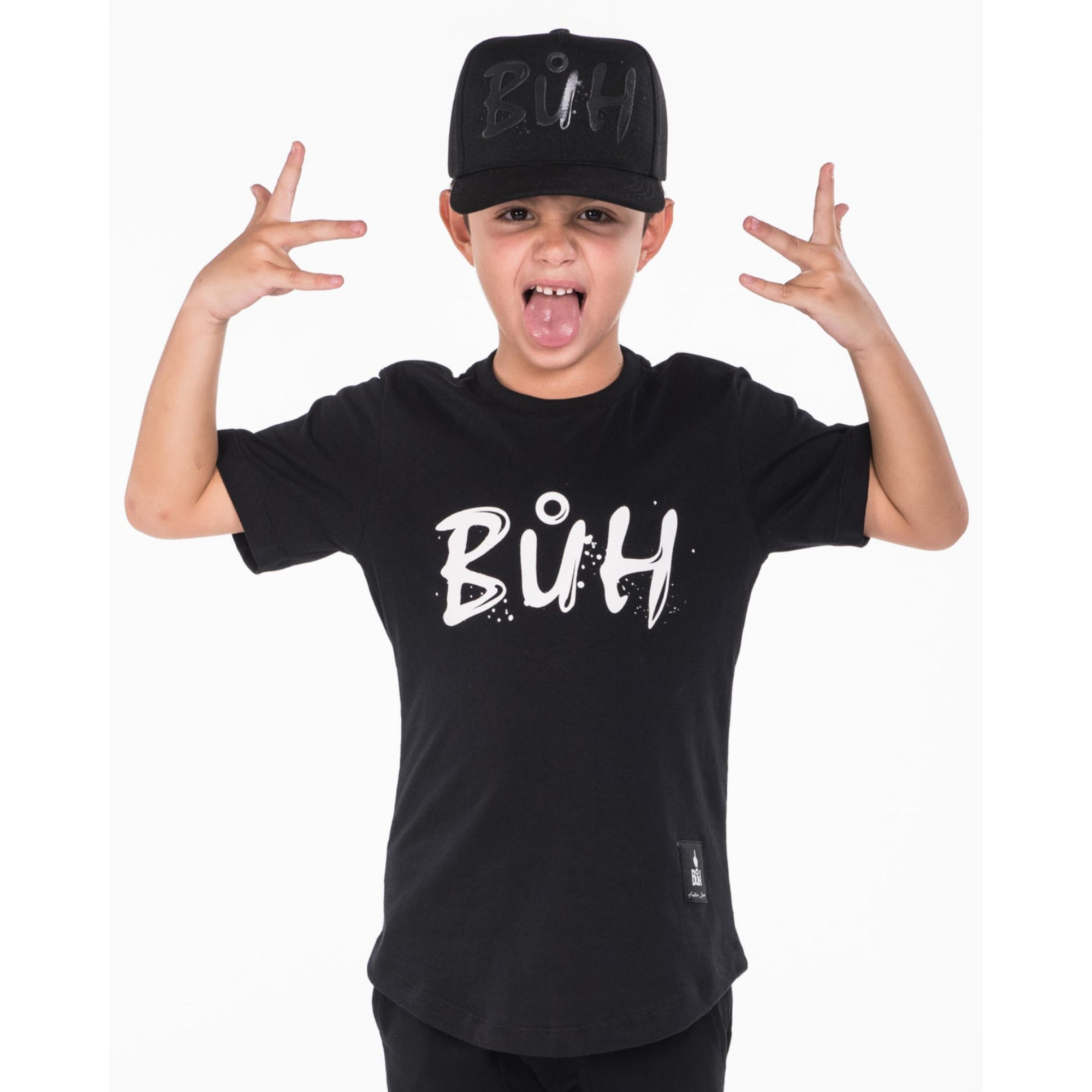 Camiseta Buh Kids Water Black