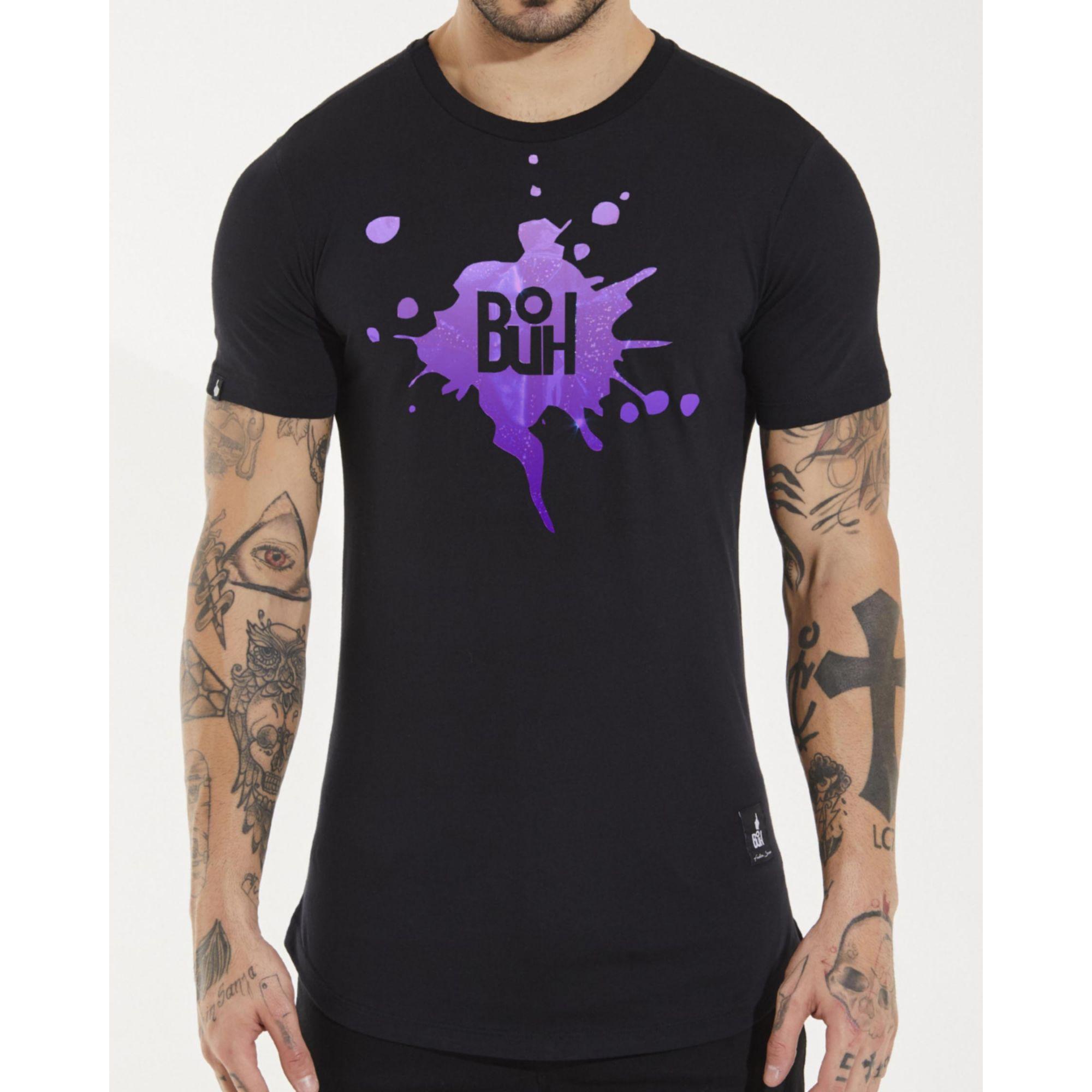 Camiseta Buh Laminada Black
