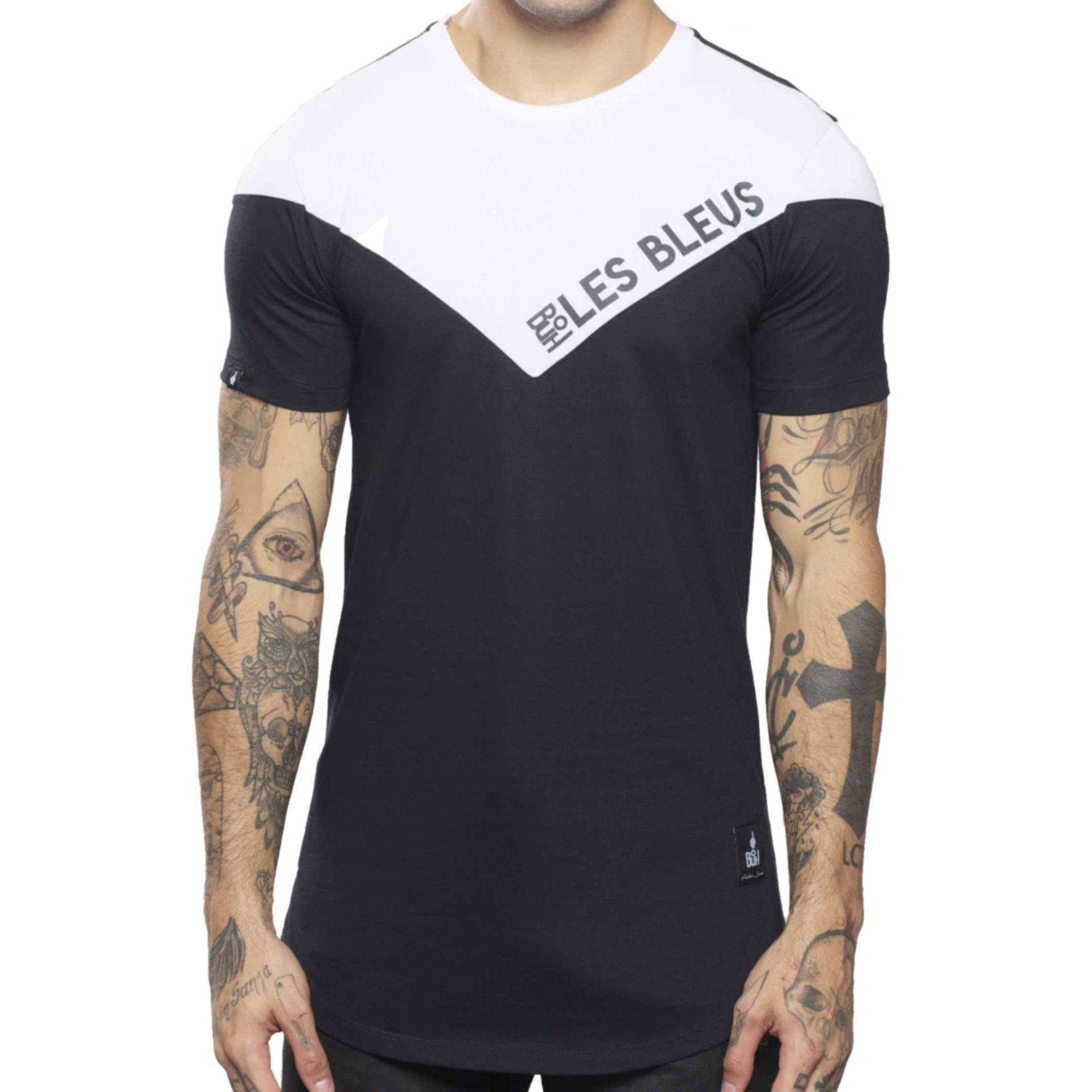 Camiseta Buh Les Bleus Black & White
