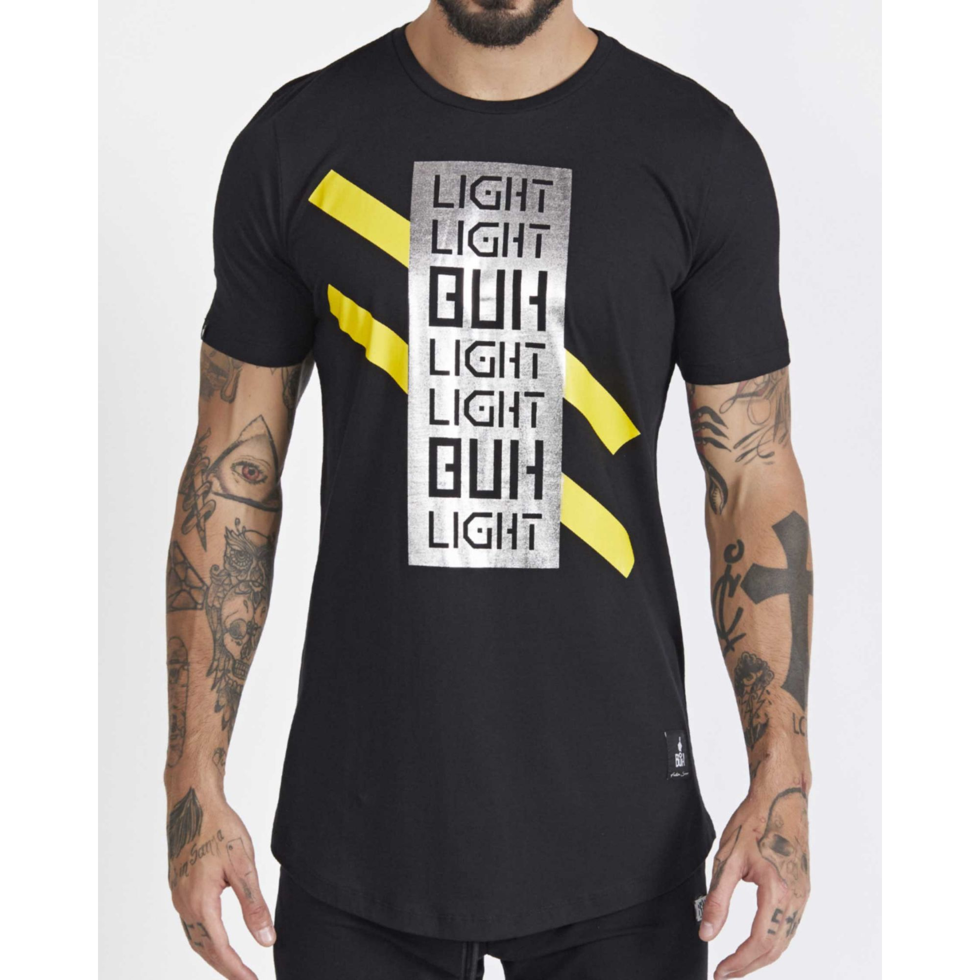 Camiseta Buh Light Foil Black