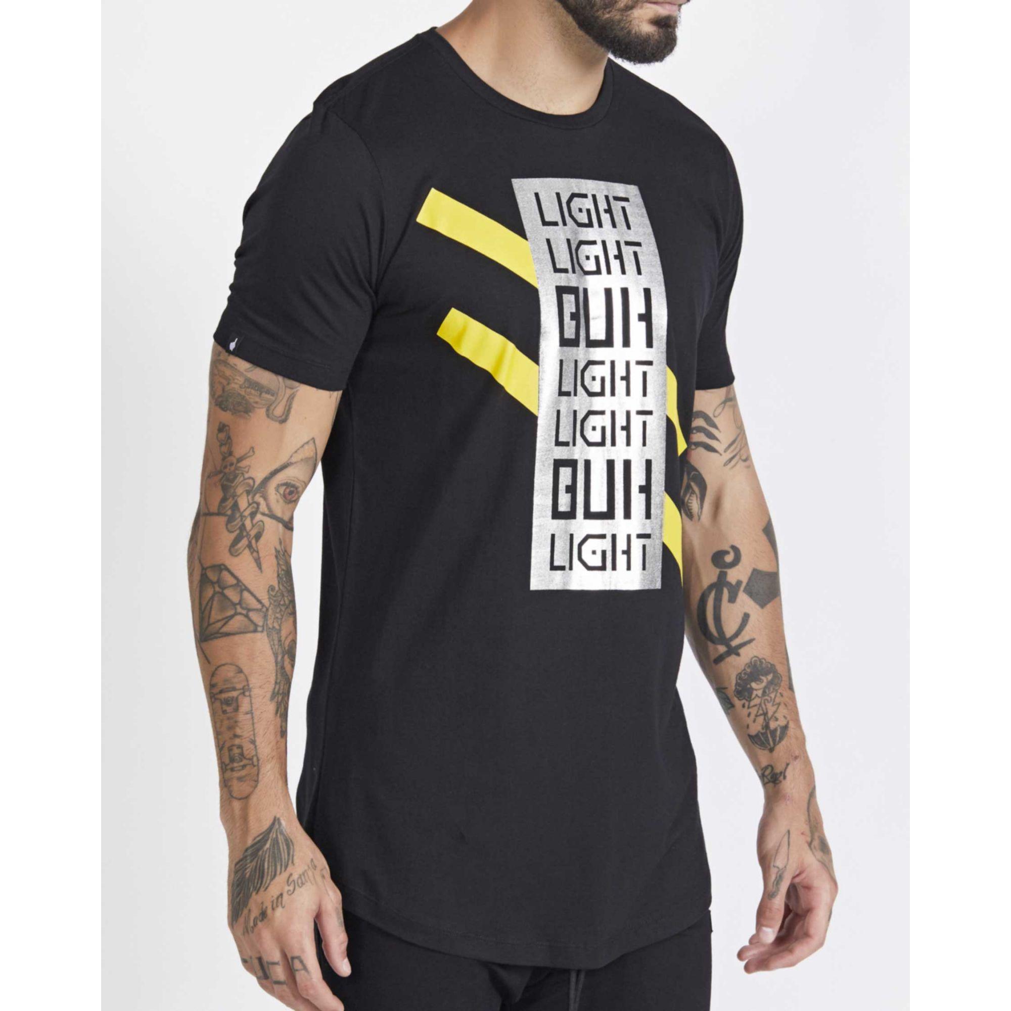 Camiseta Buh Light Foil Black