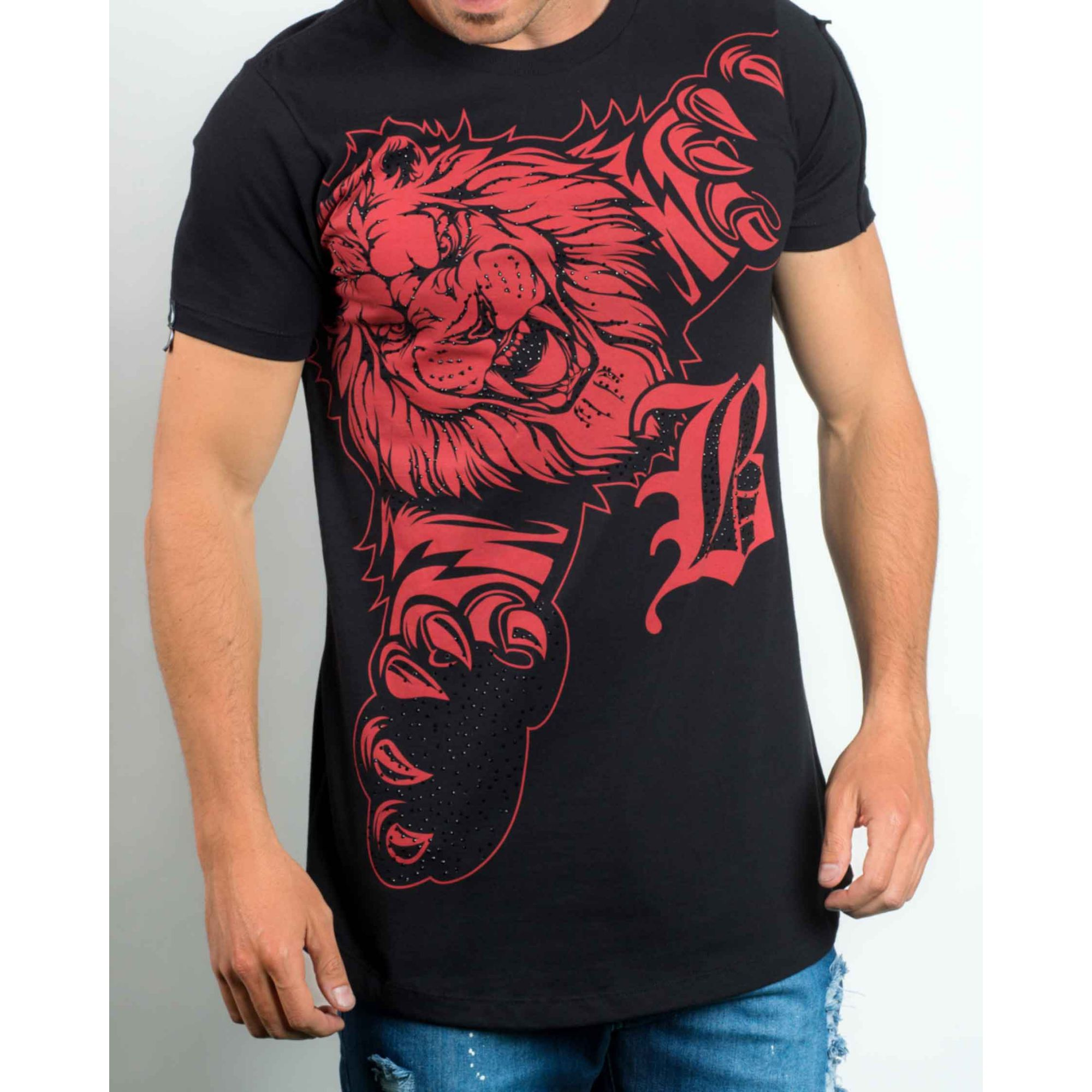 Camiseta Buh Lion Black