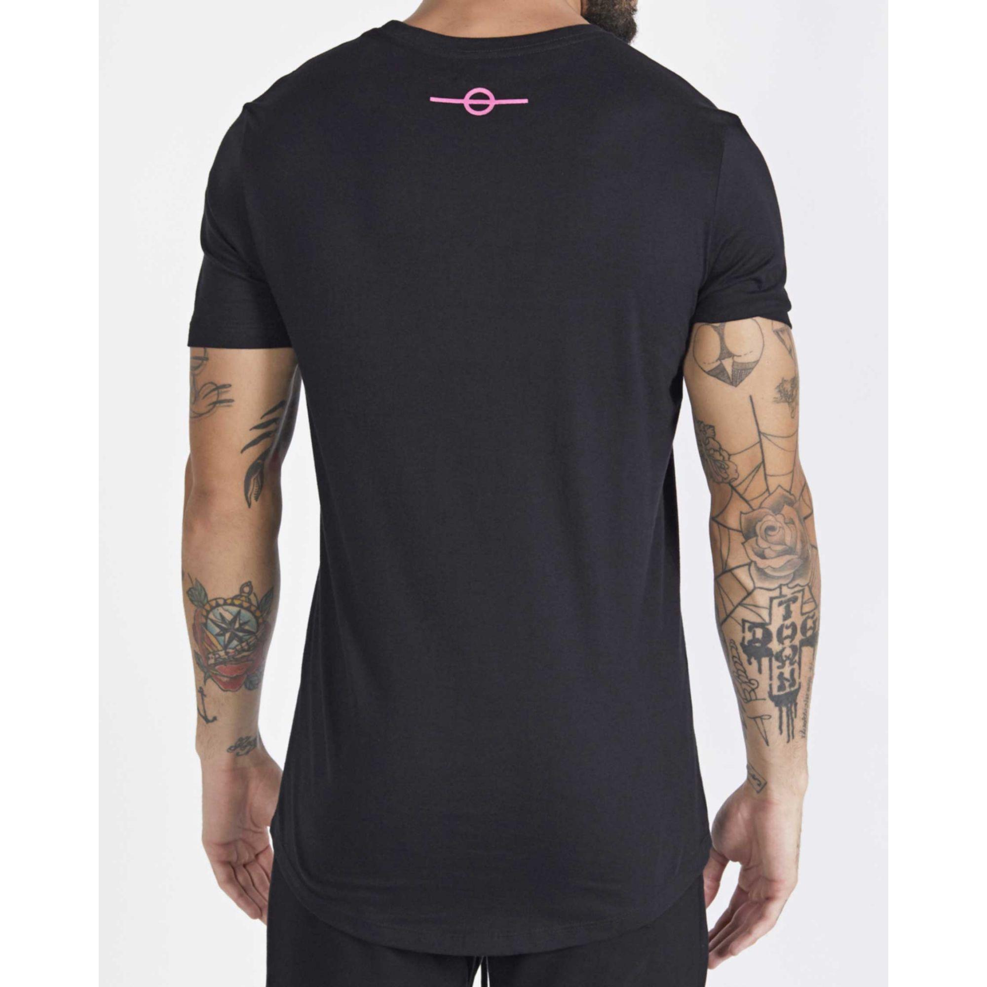 Camiseta Buh Little Square Black
