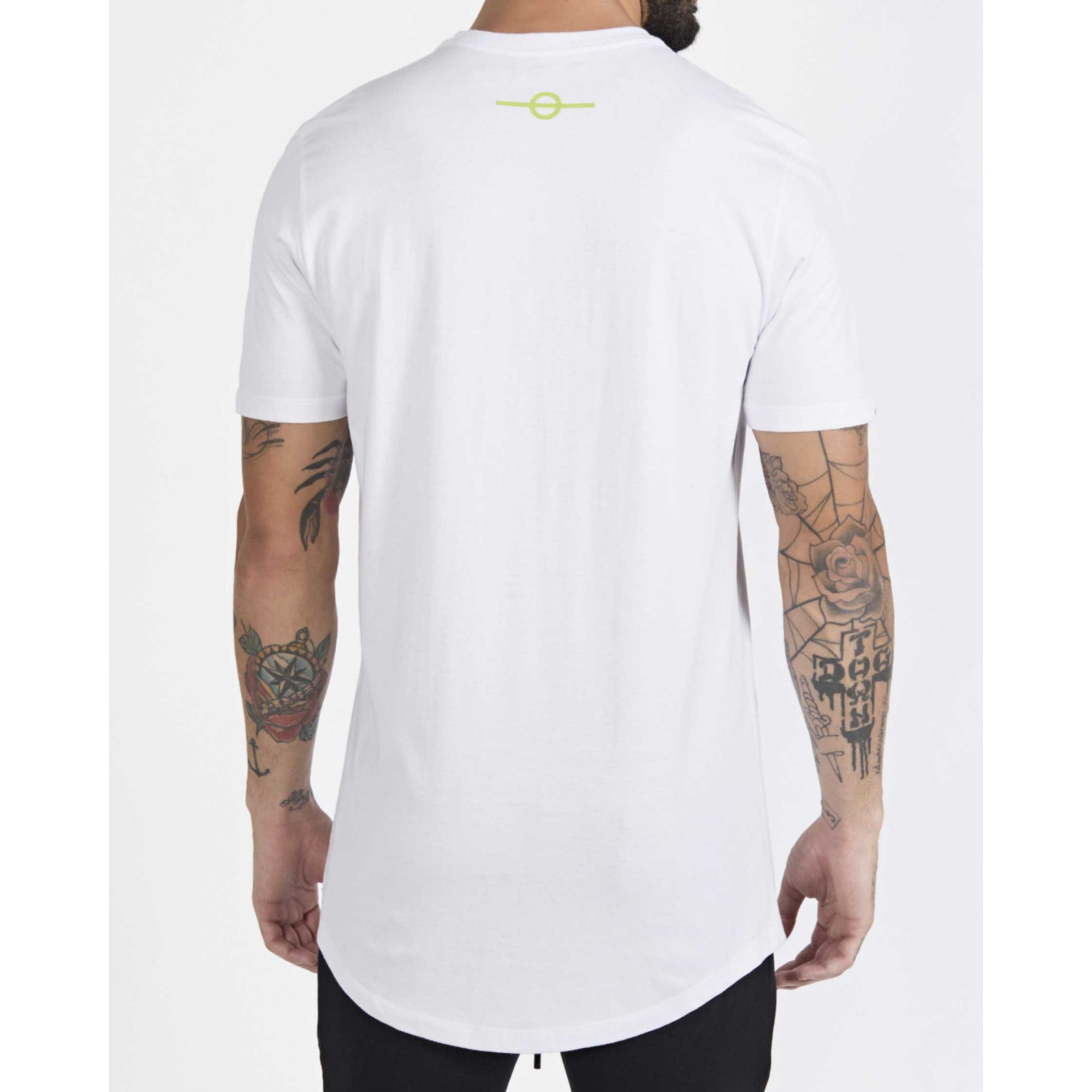 Camiseta Buh Little Square White