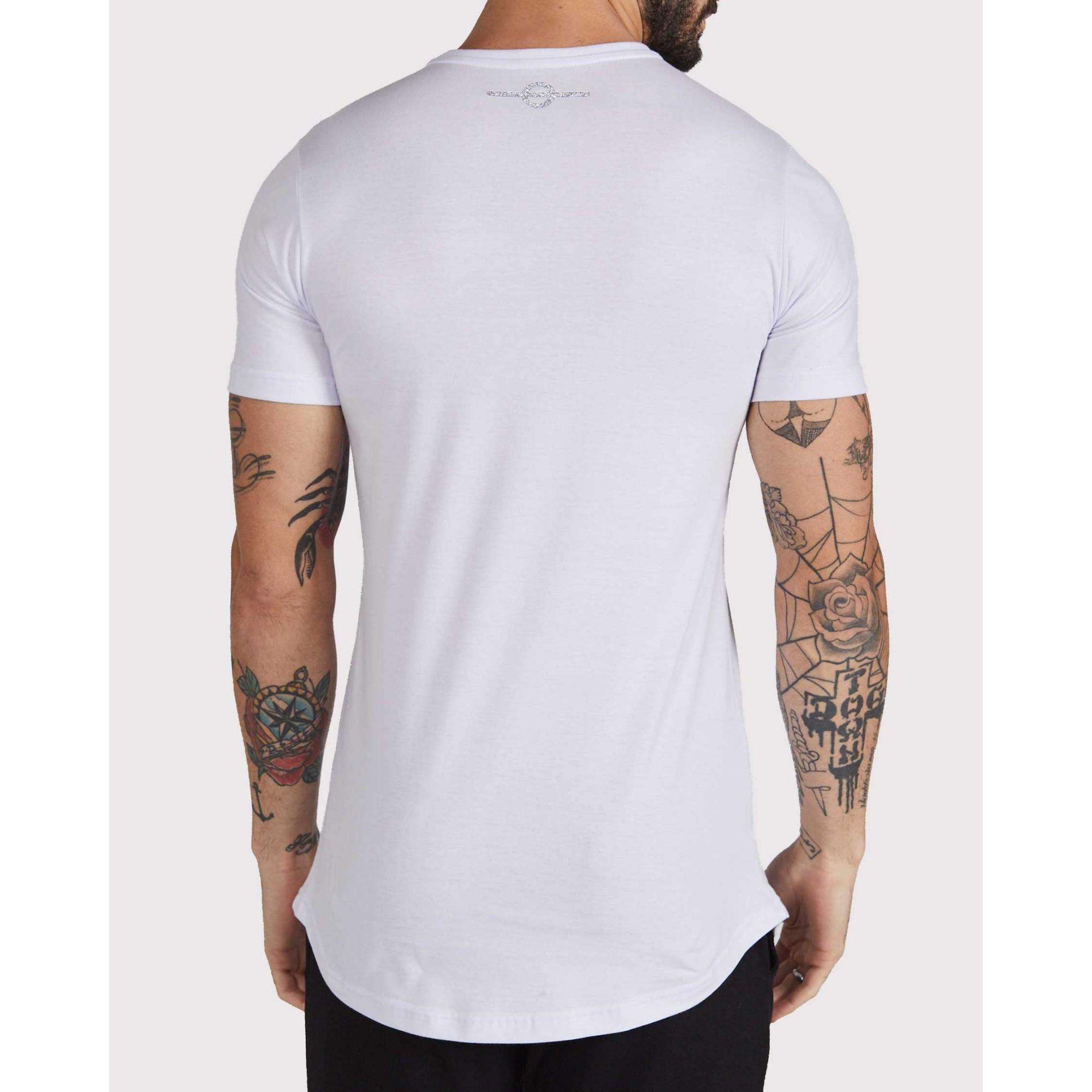 Camiseta Buh Logo Degradê White