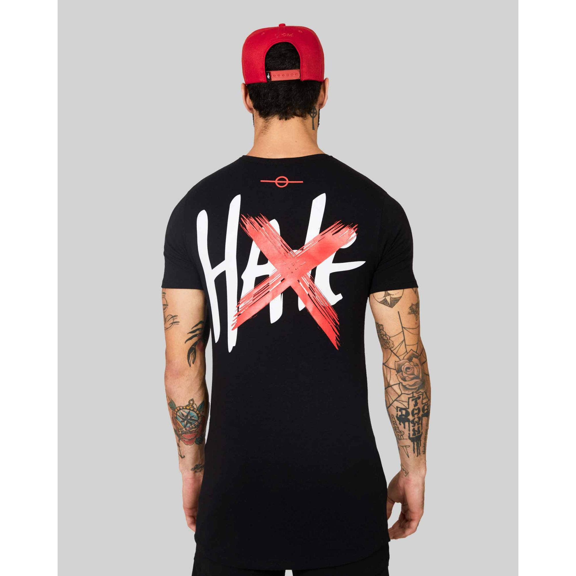 Camiseta Buh Love Hate Black