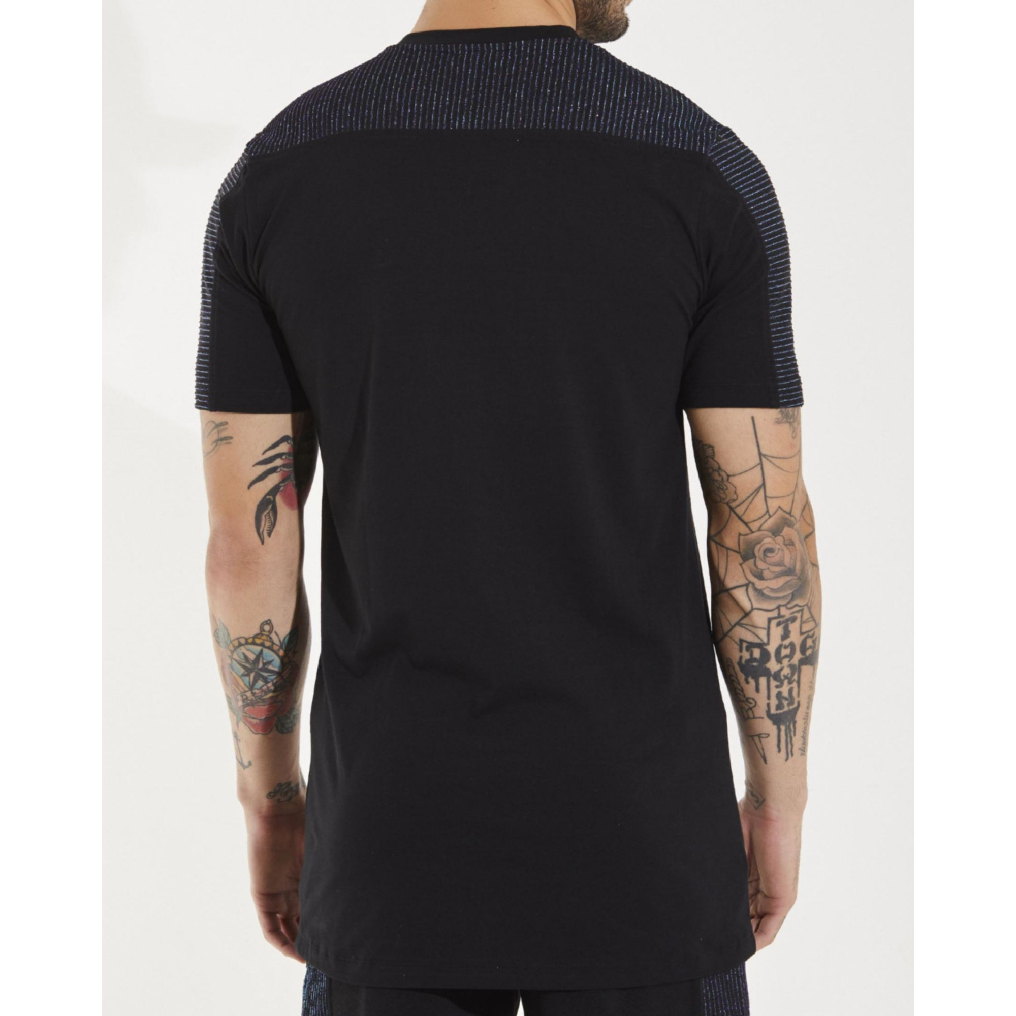 Camiseta Buh Lurex Black