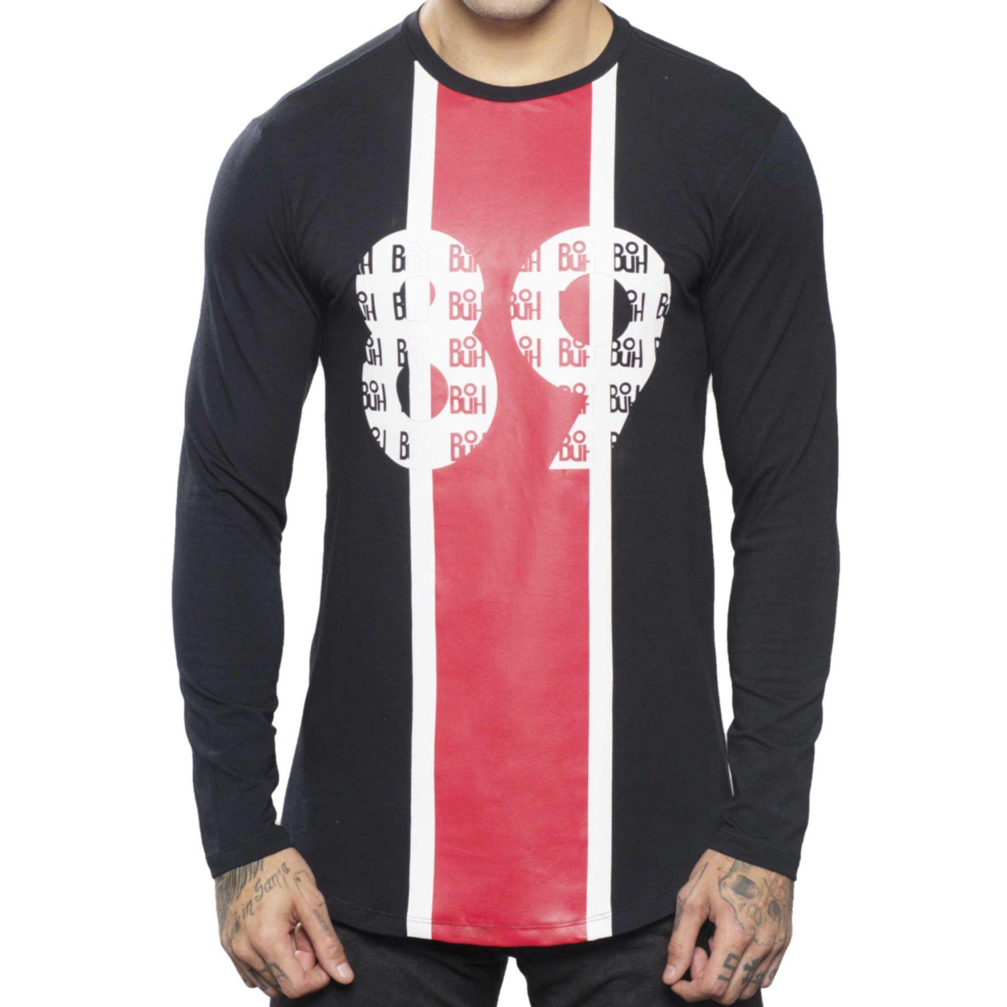 Camiseta Buh Manga Longa Listra 89