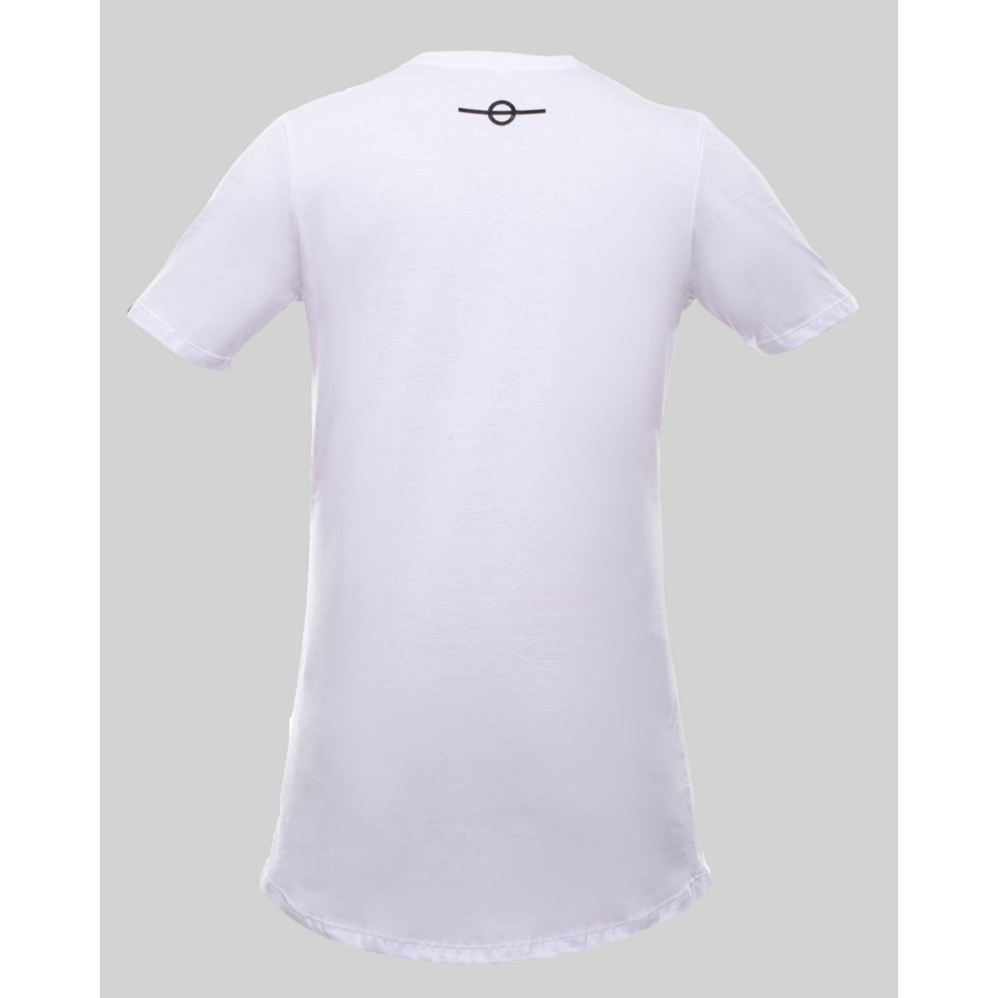 Camiseta Buh Maxxi Letters White