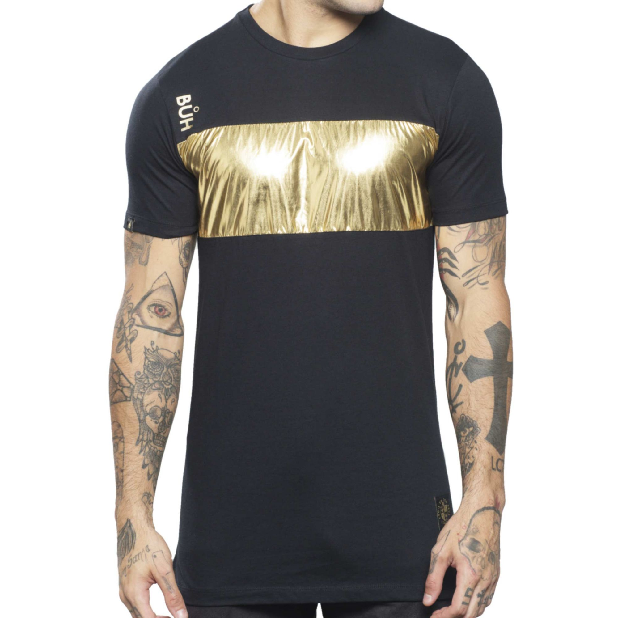 Camiseta Buh Metal Gold & Black