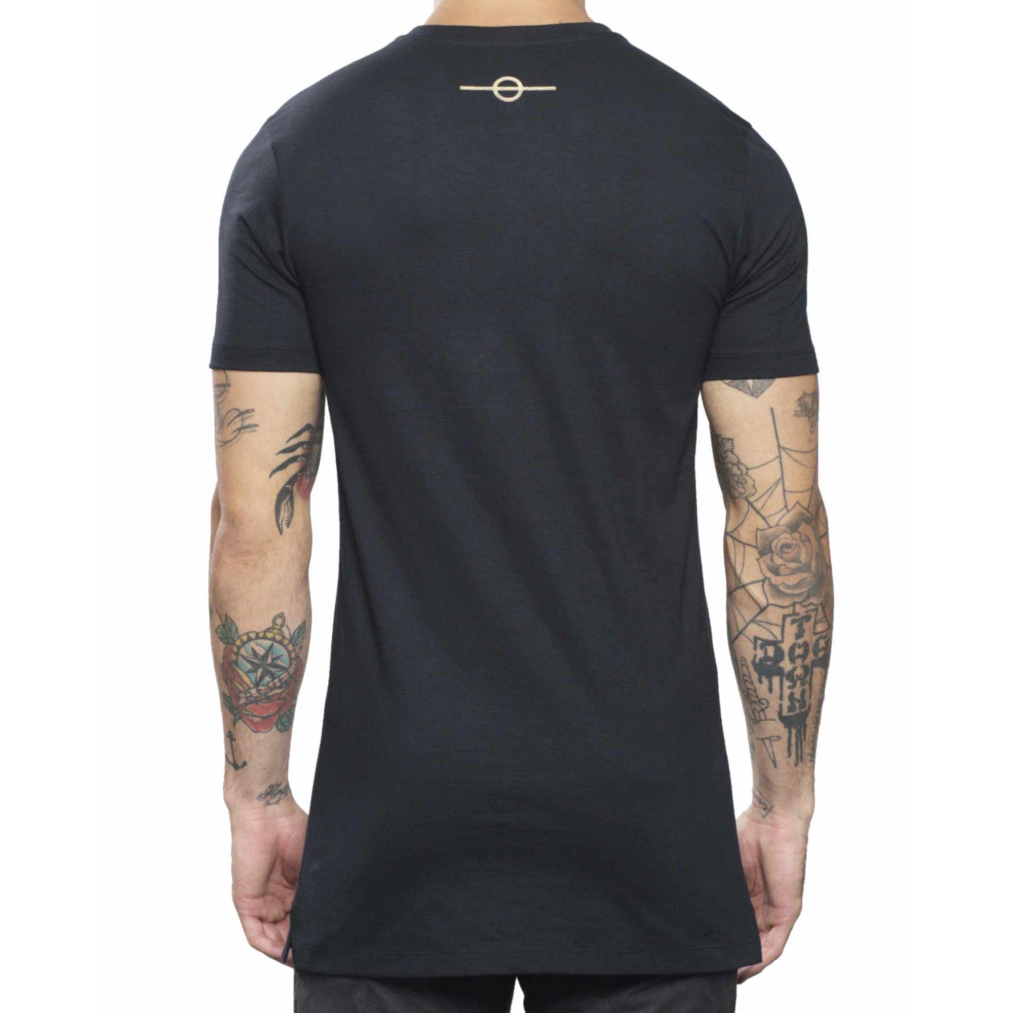 Camiseta Buh Metal Gold & Black