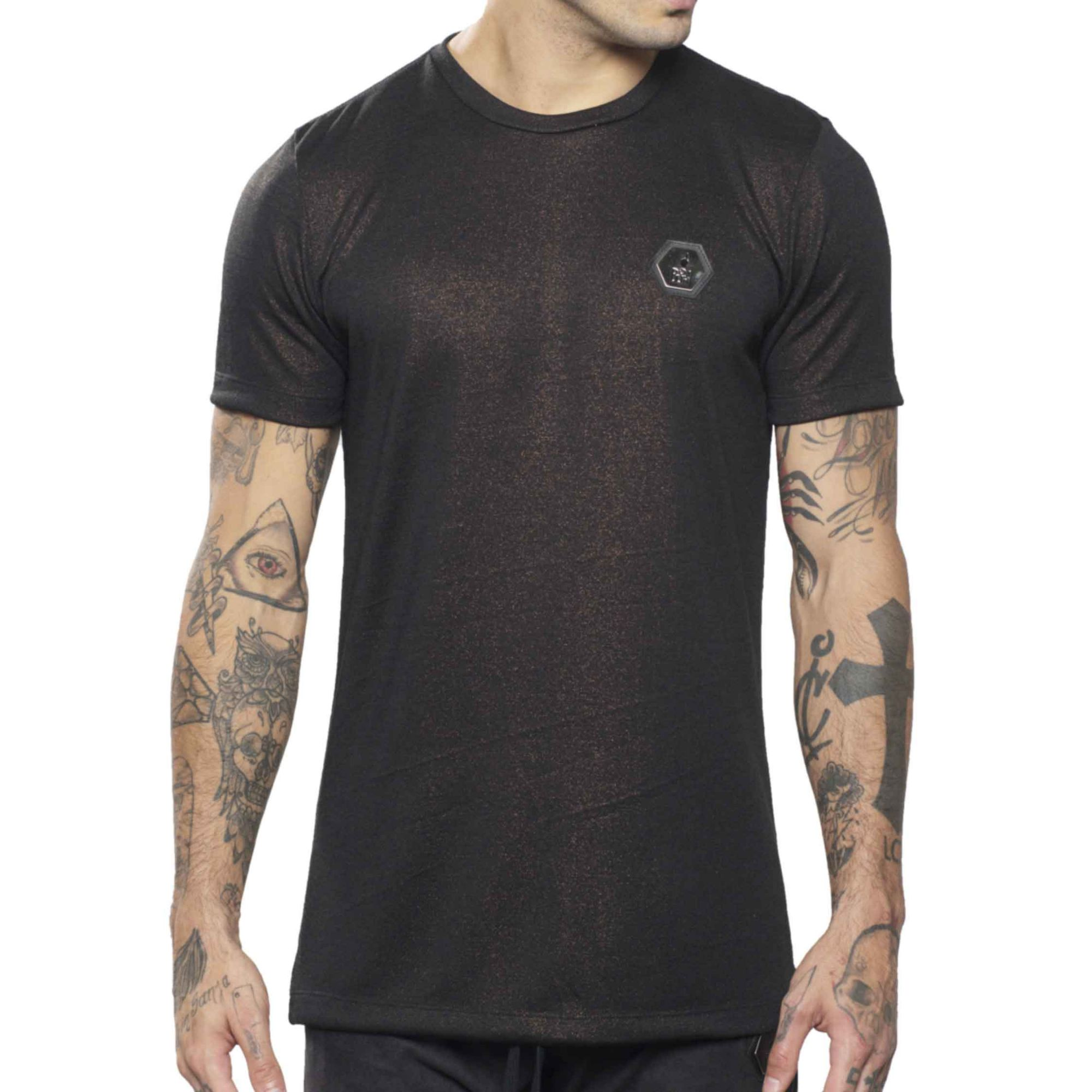 Camiseta Buh Metalizada Black