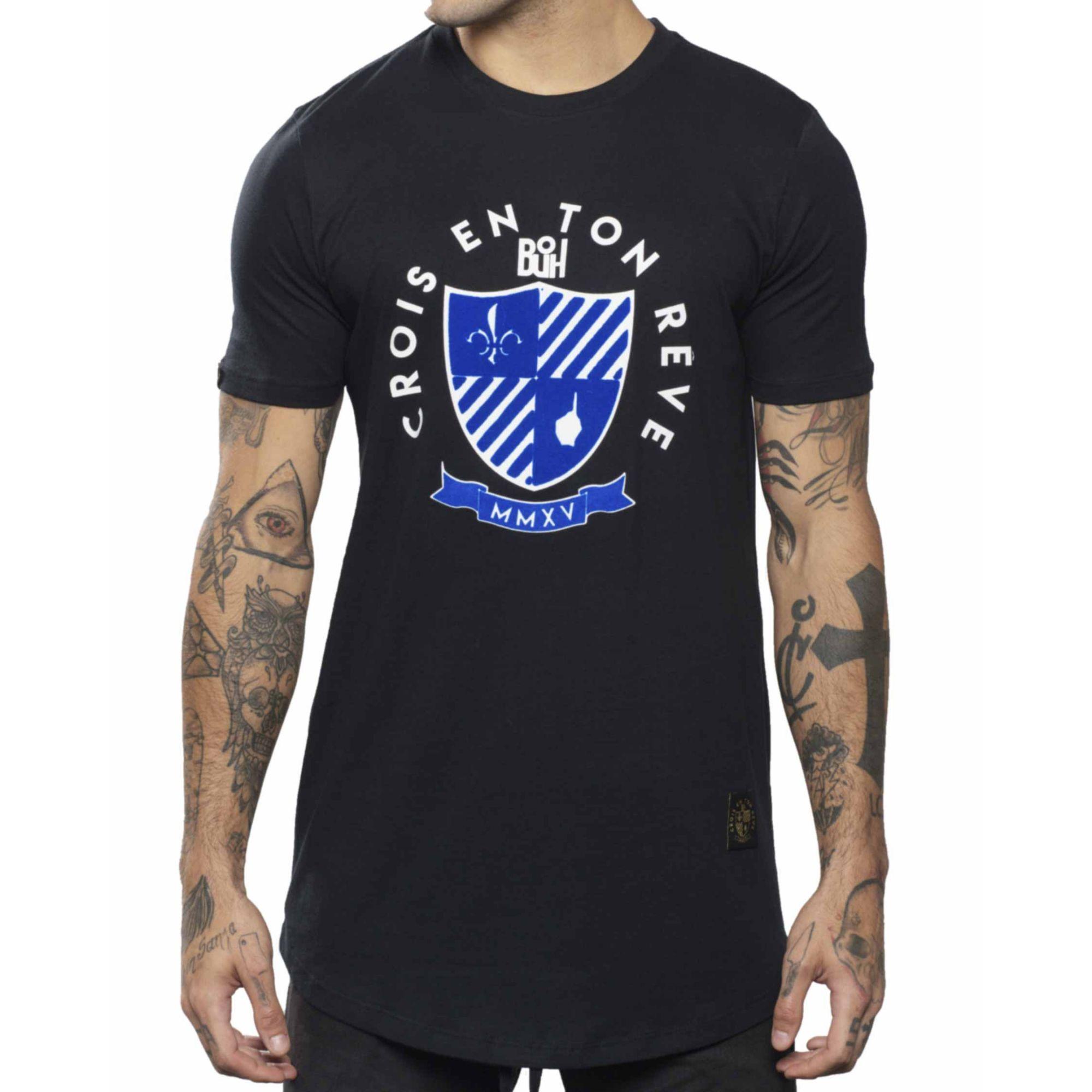 Camiseta Buh MMXV Relevo Black