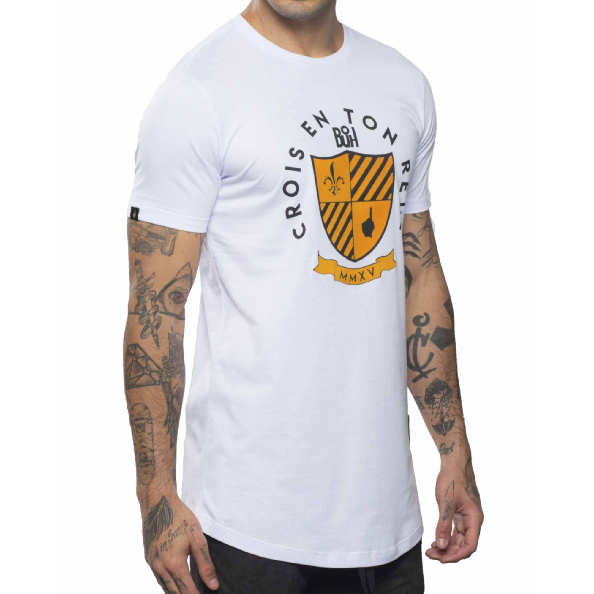 Camiseta Buh MMXV Relevo White