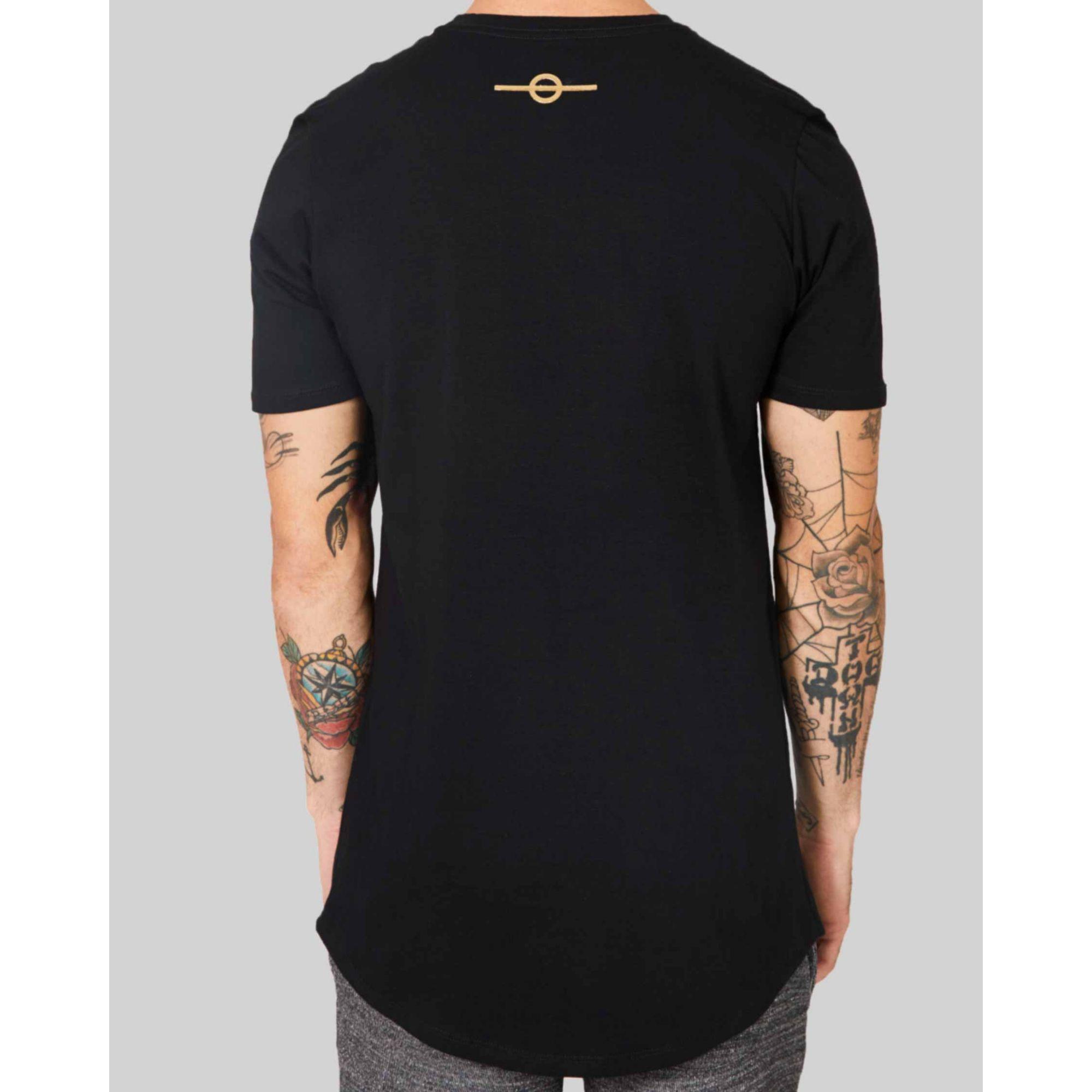 Camiseta Buh Multi Logo Black