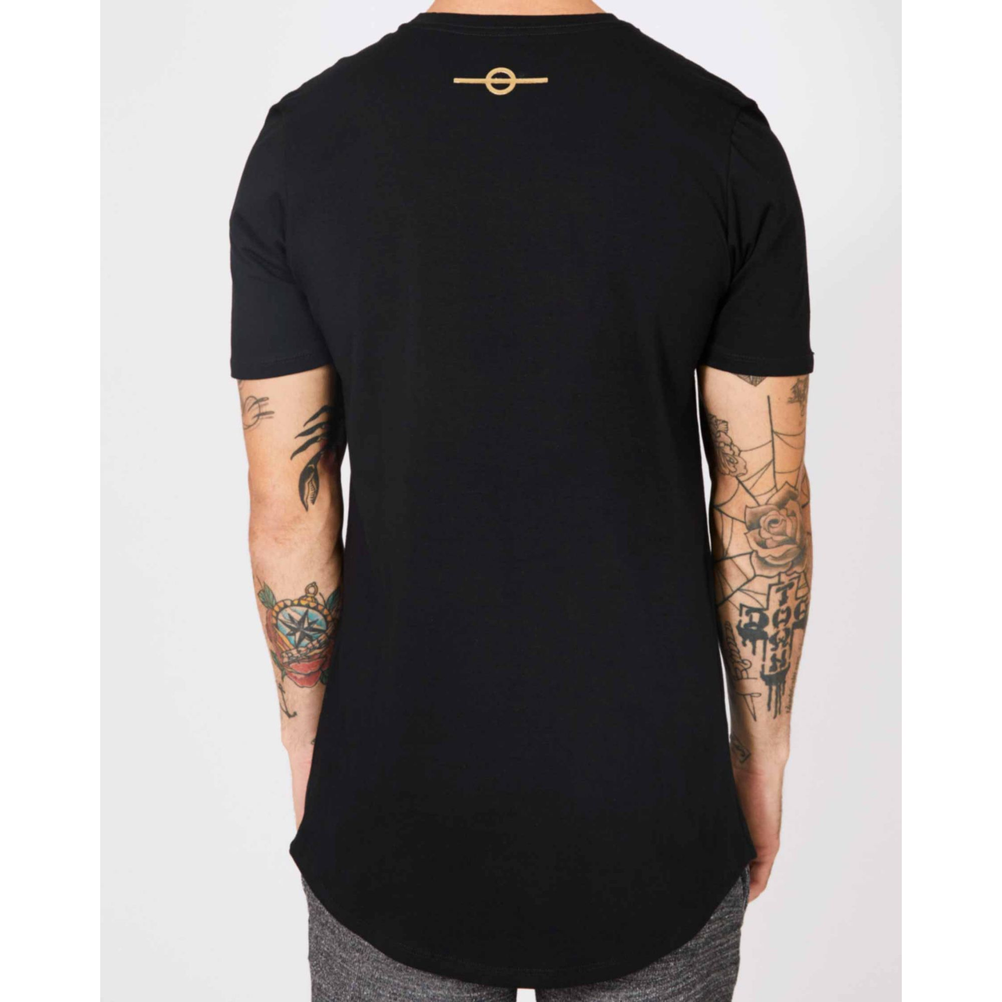 Camiseta Buh Multi Logo Black