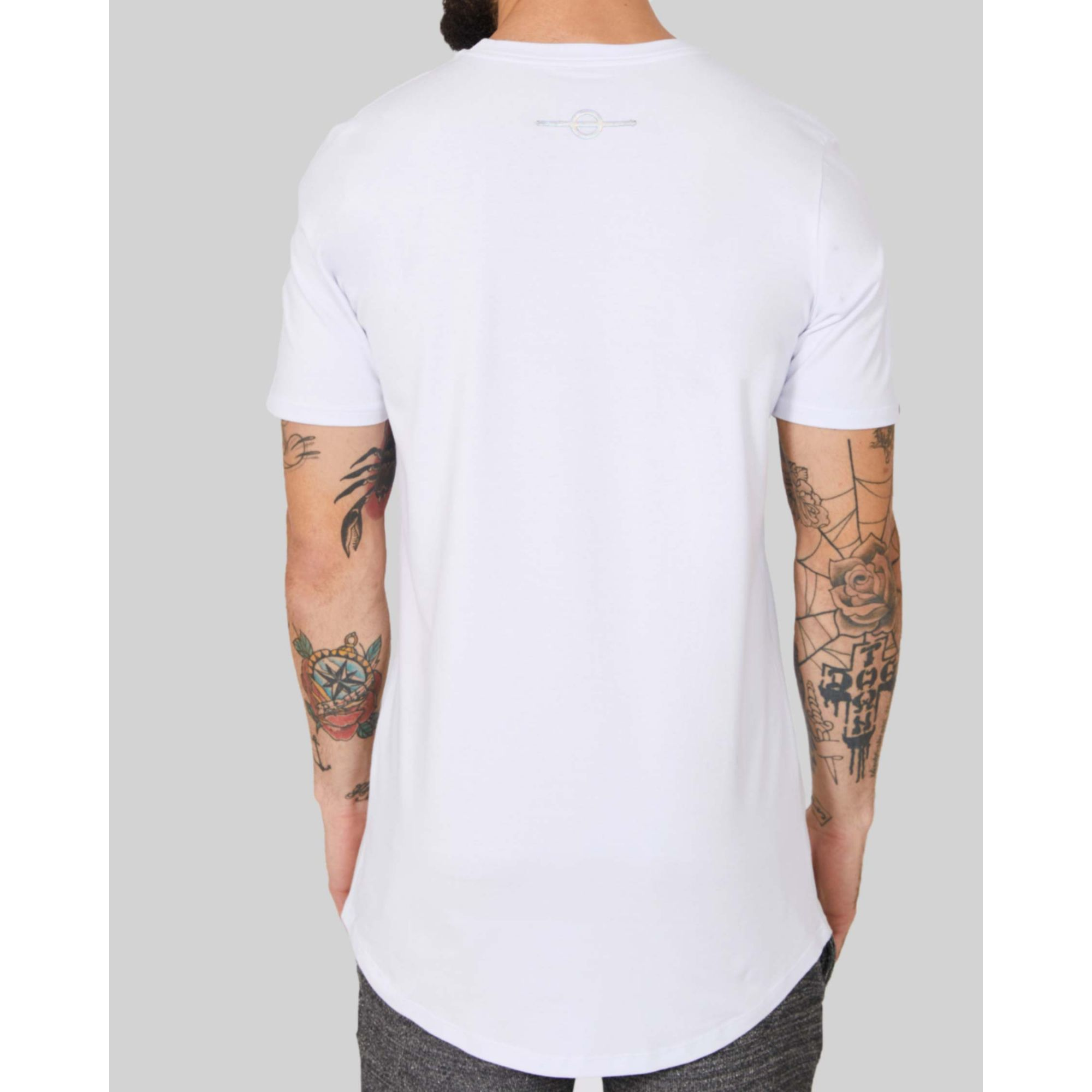 Camiseta Buh Multi Logo White