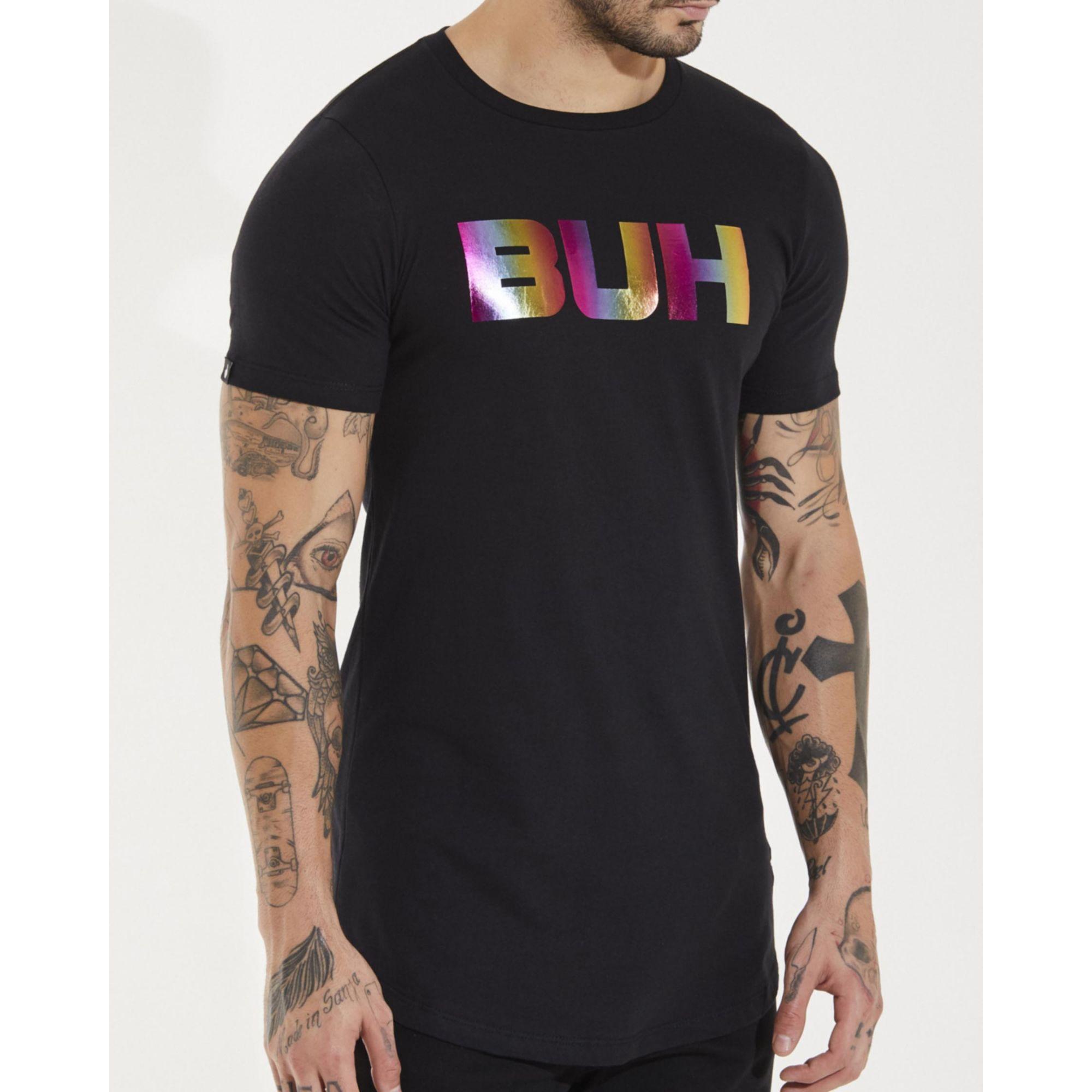 Camiseta Buh Multicolor Black