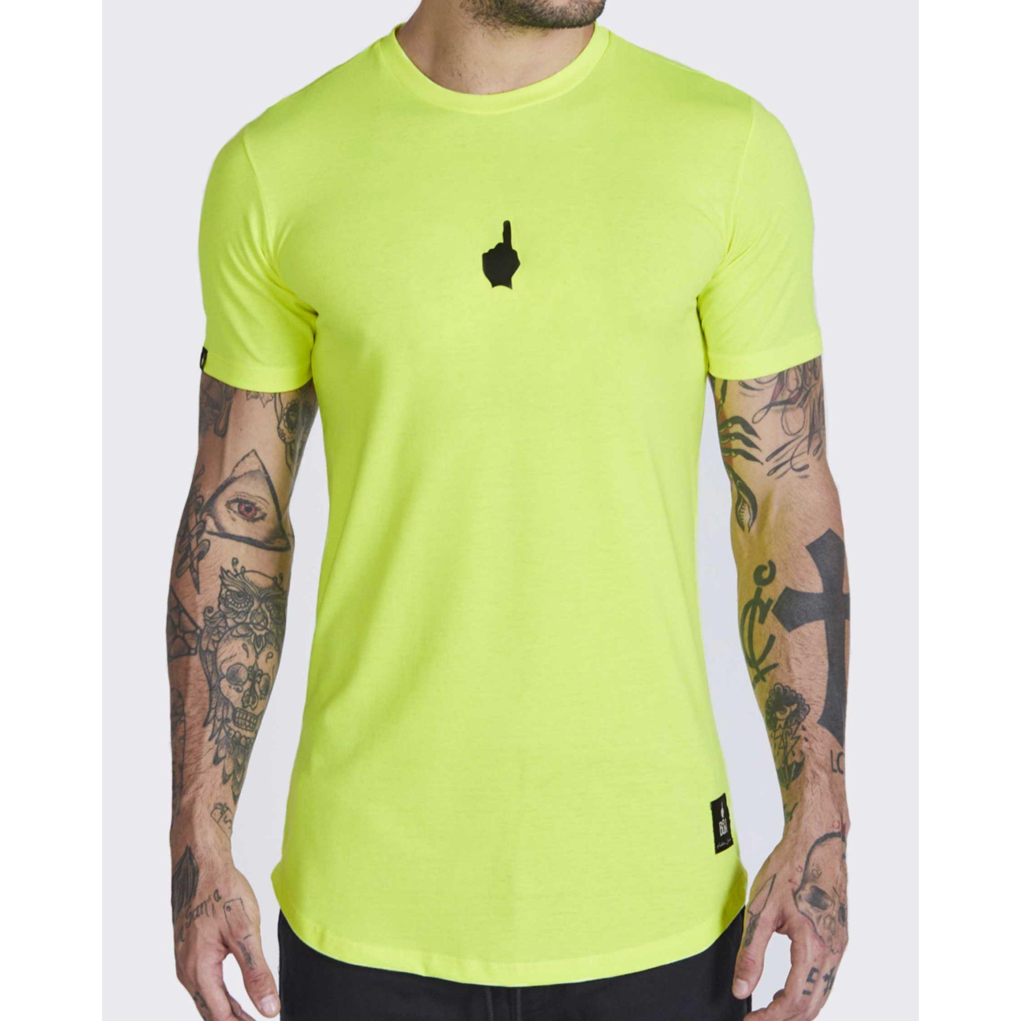 Camiseta Buh Neon Basic Verde Limão