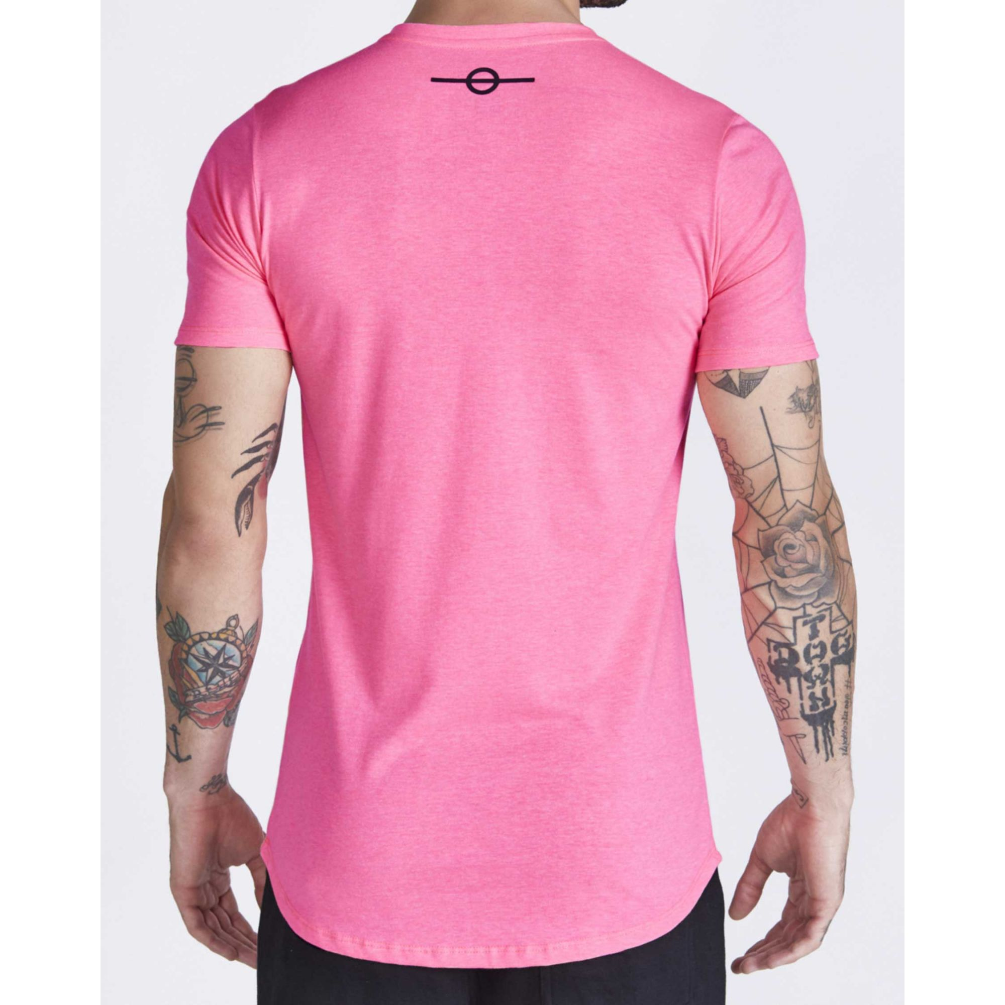 Camiseta Buh Neon Rosa