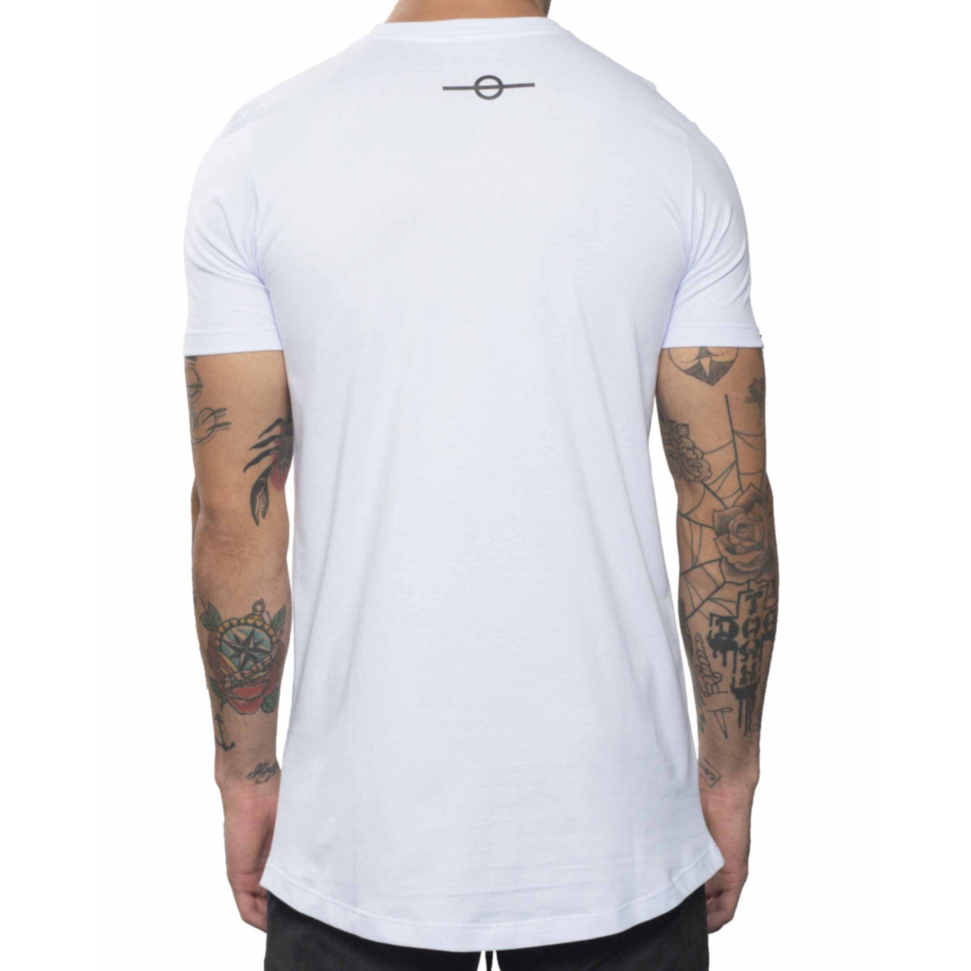 Camiseta Buh Noir Animal Print White