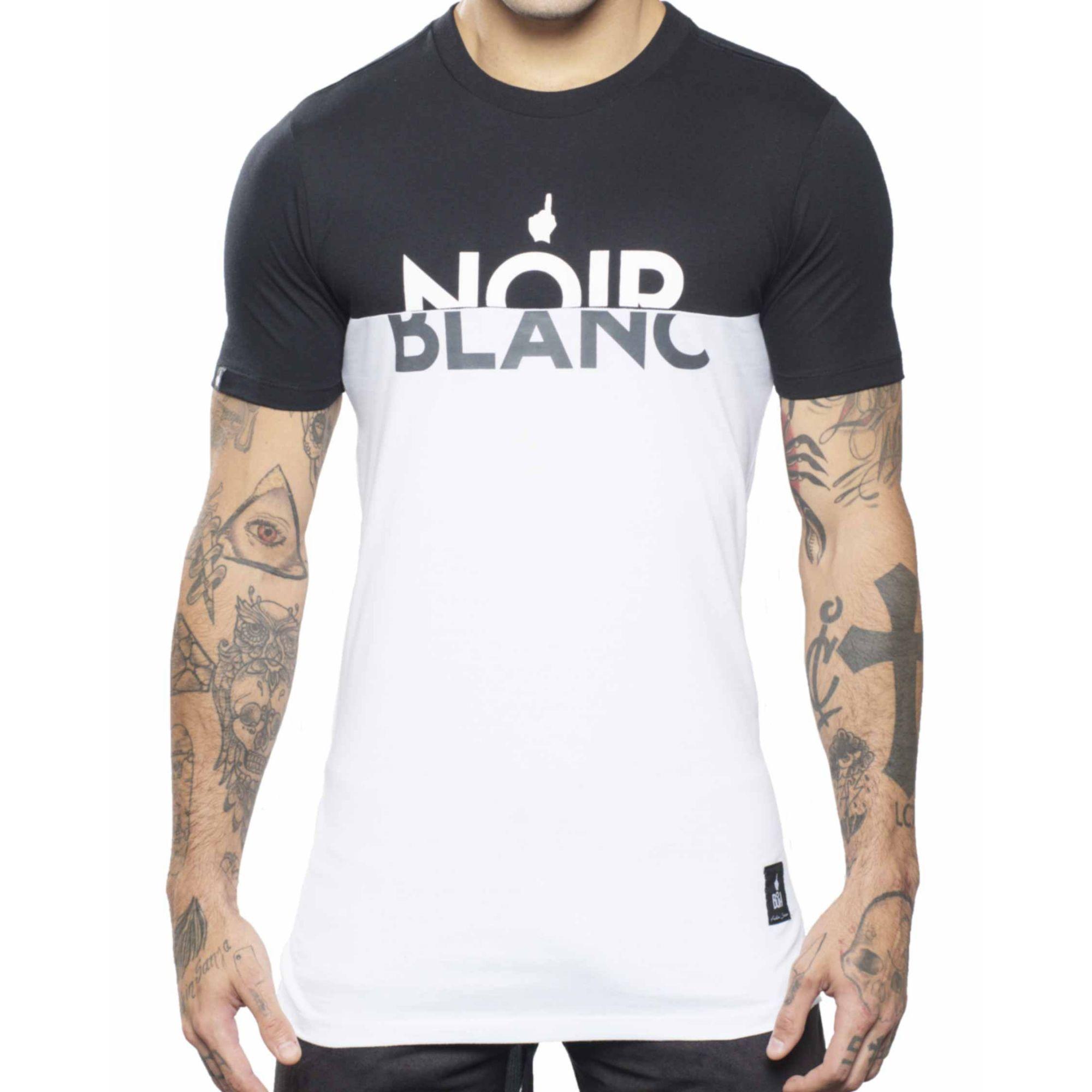 Camiseta Buh Noir Blanc