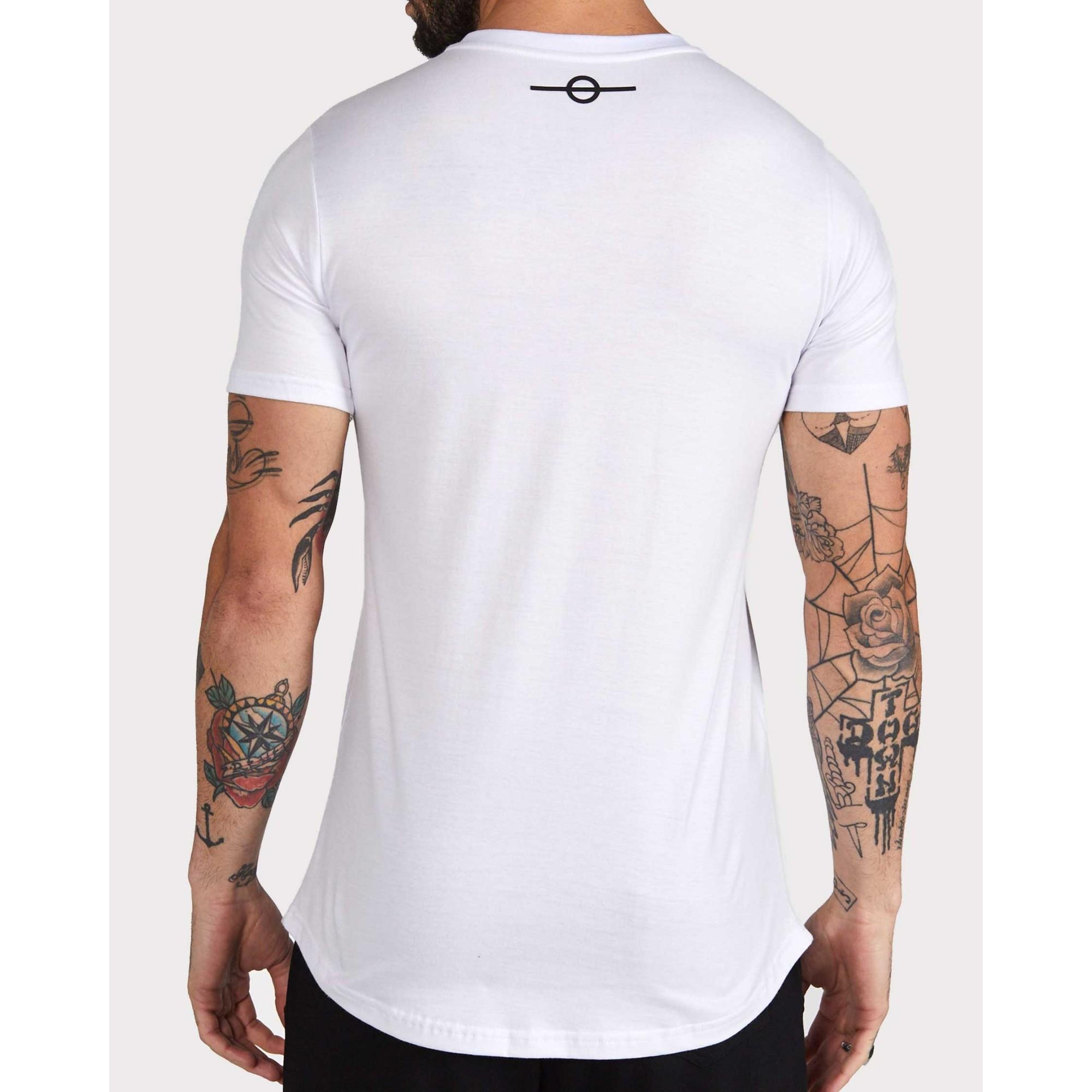 Camiseta Buh Óptica White