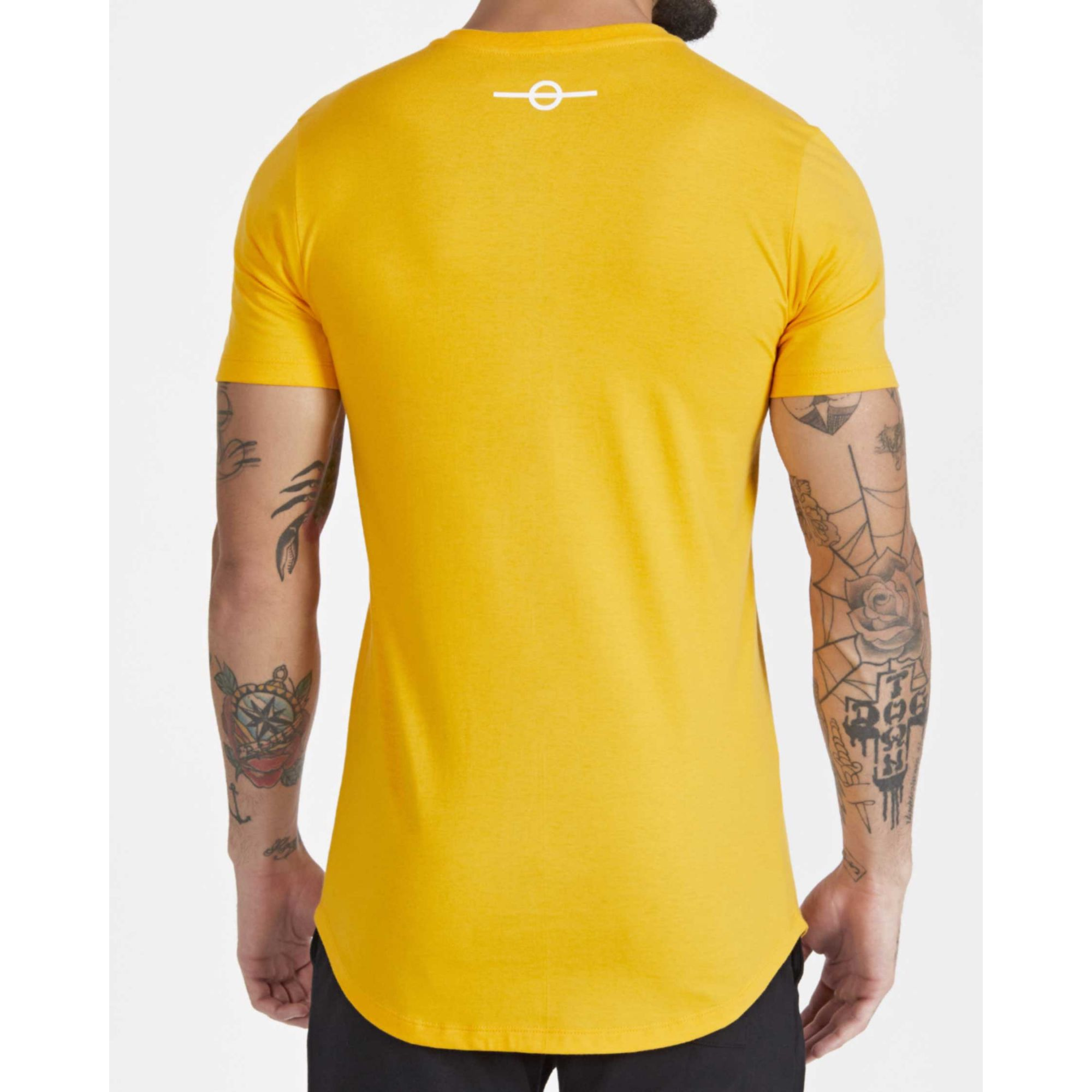 Camiseta Buh Outline Yellow