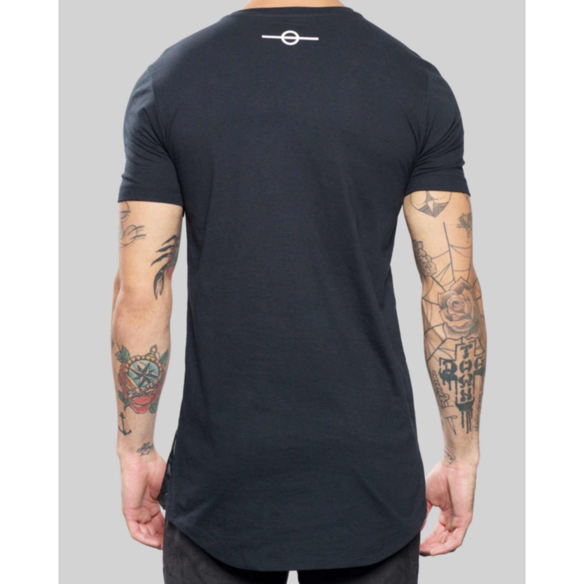 Camiseta Buh Paetê Préjugé Black