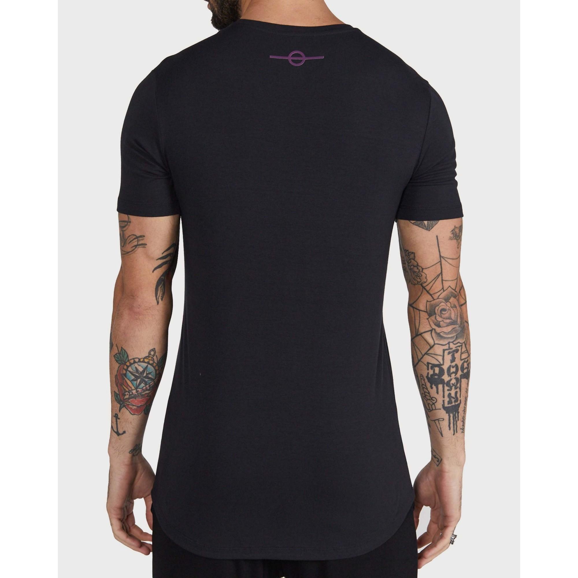 Camiseta Buh Pinceladas Black