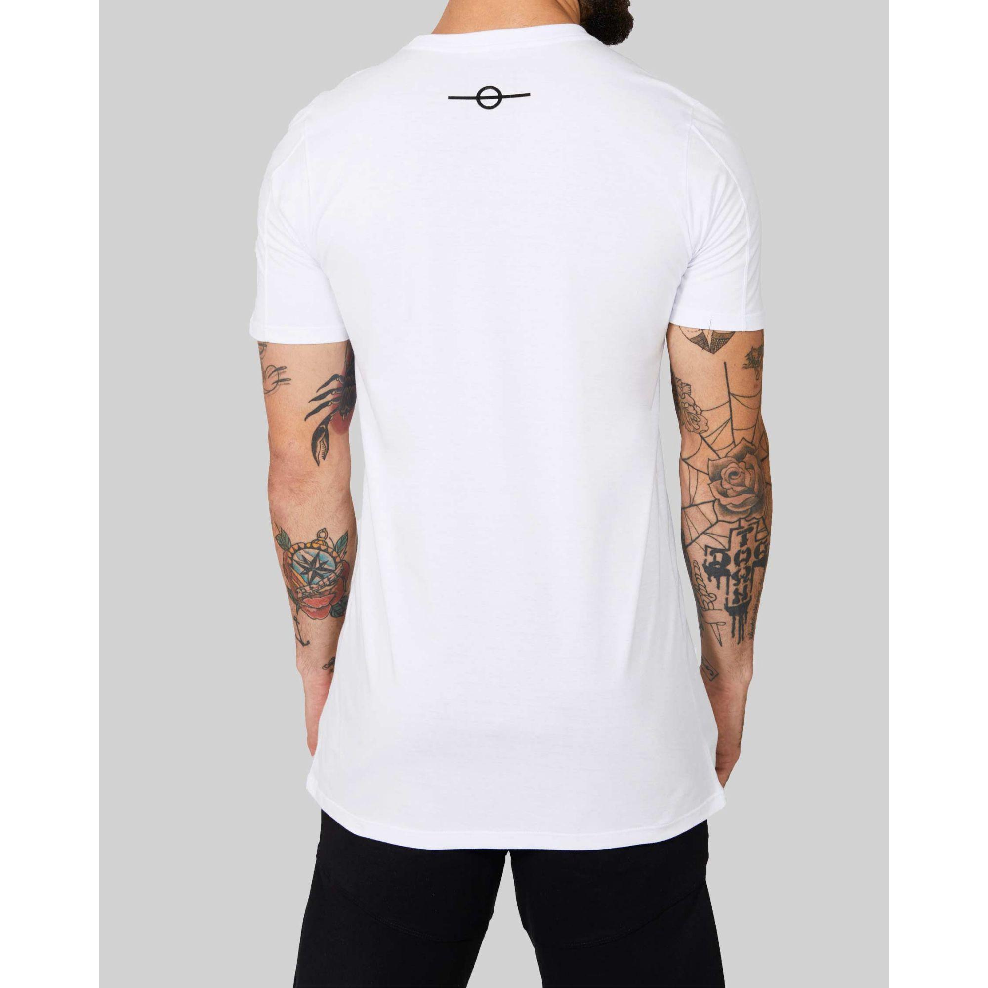 Camiseta Buh Placa Gomo White