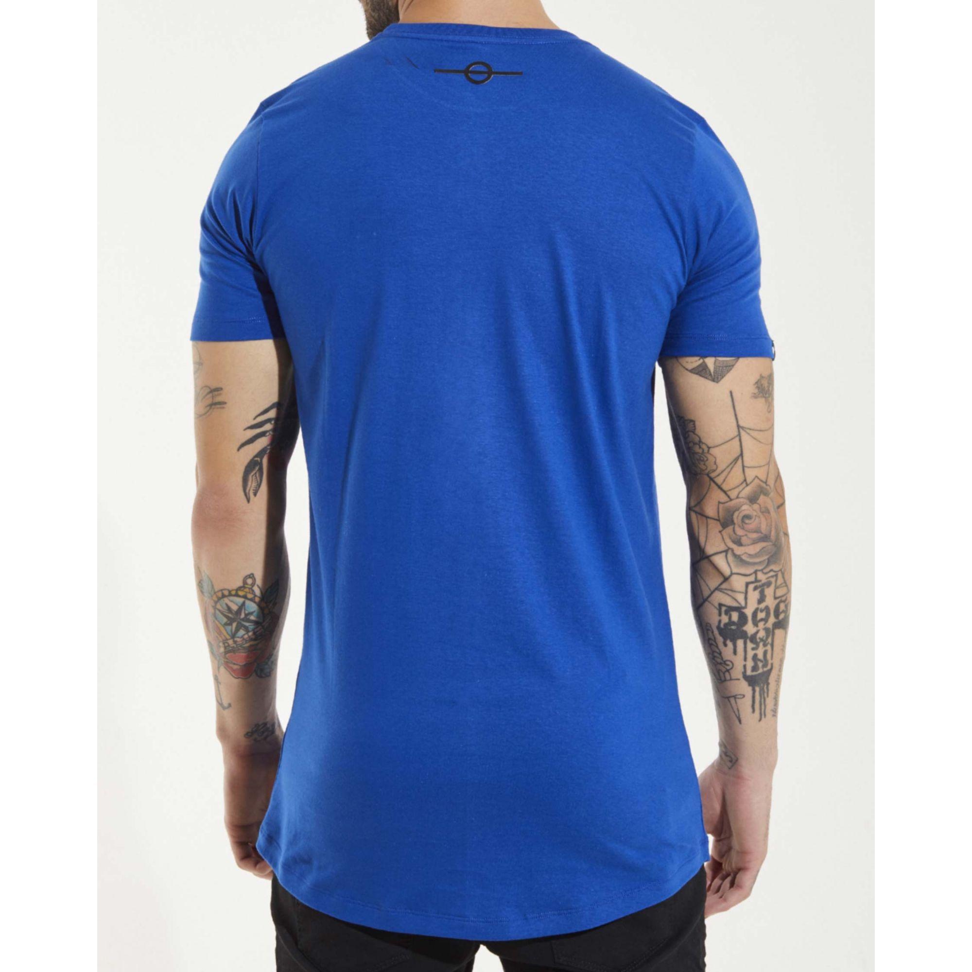 Camiseta Buh Plaquinha Blue