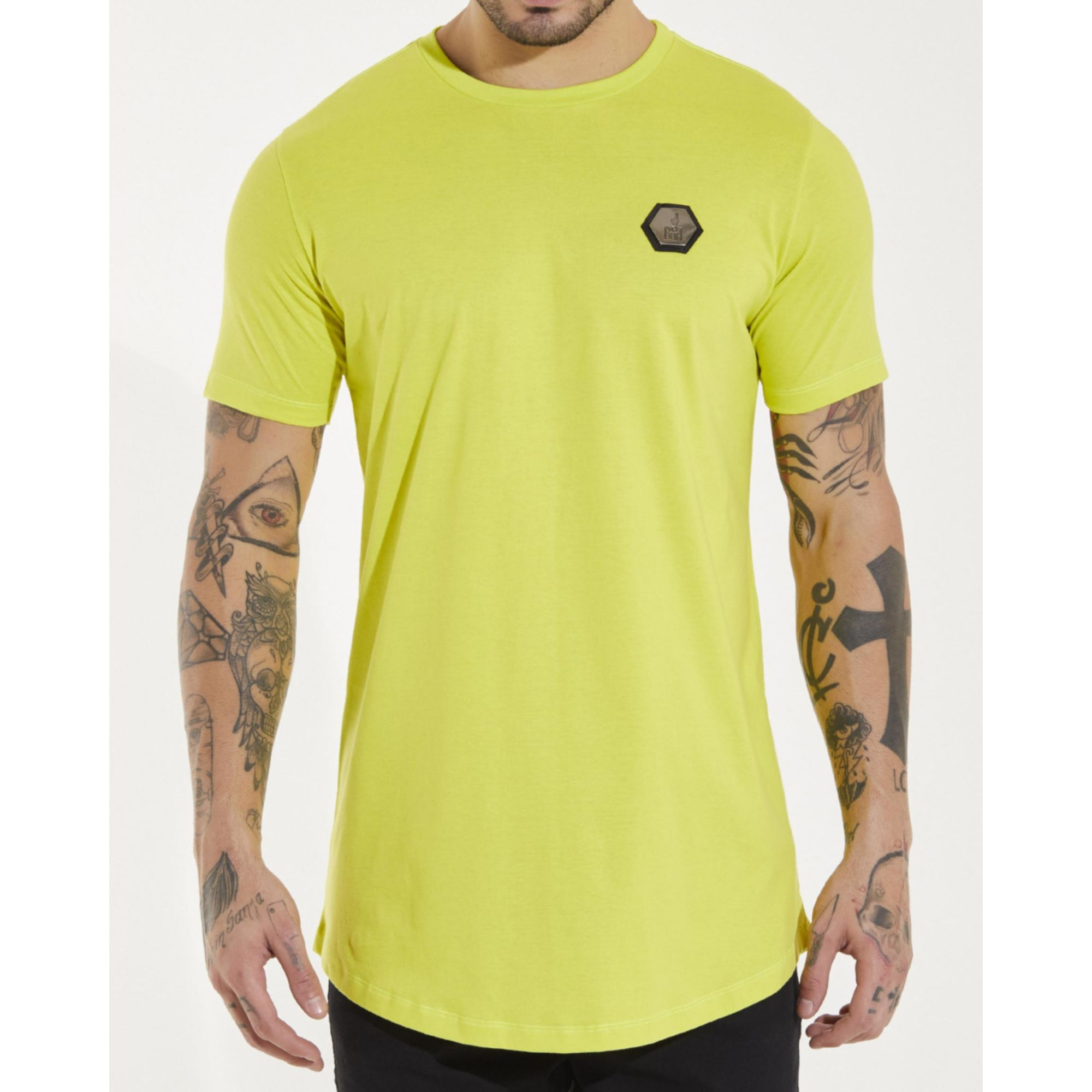 Camiseta Buh Plaquinha Yellow