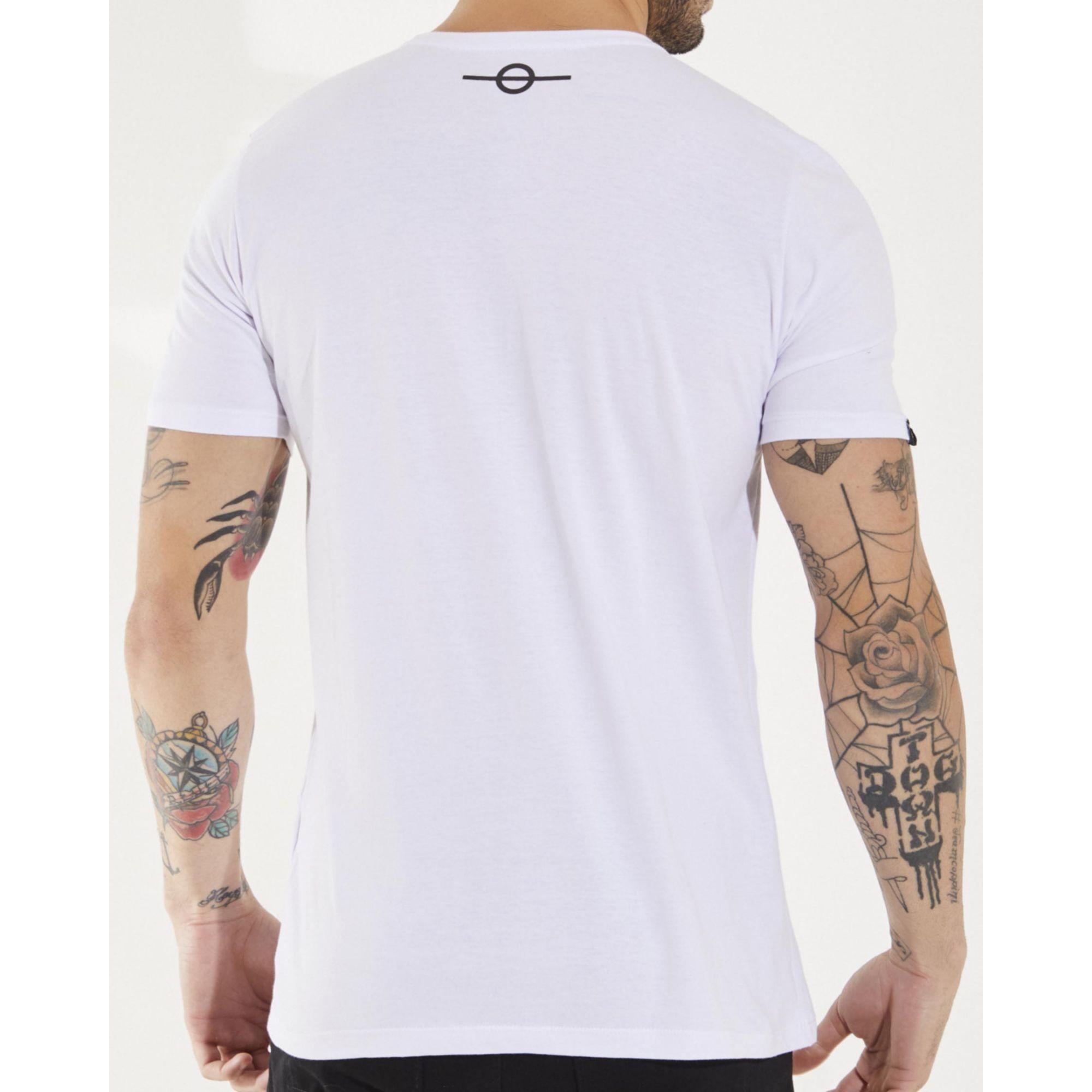 Camiseta Buh Plastic Gel Água White