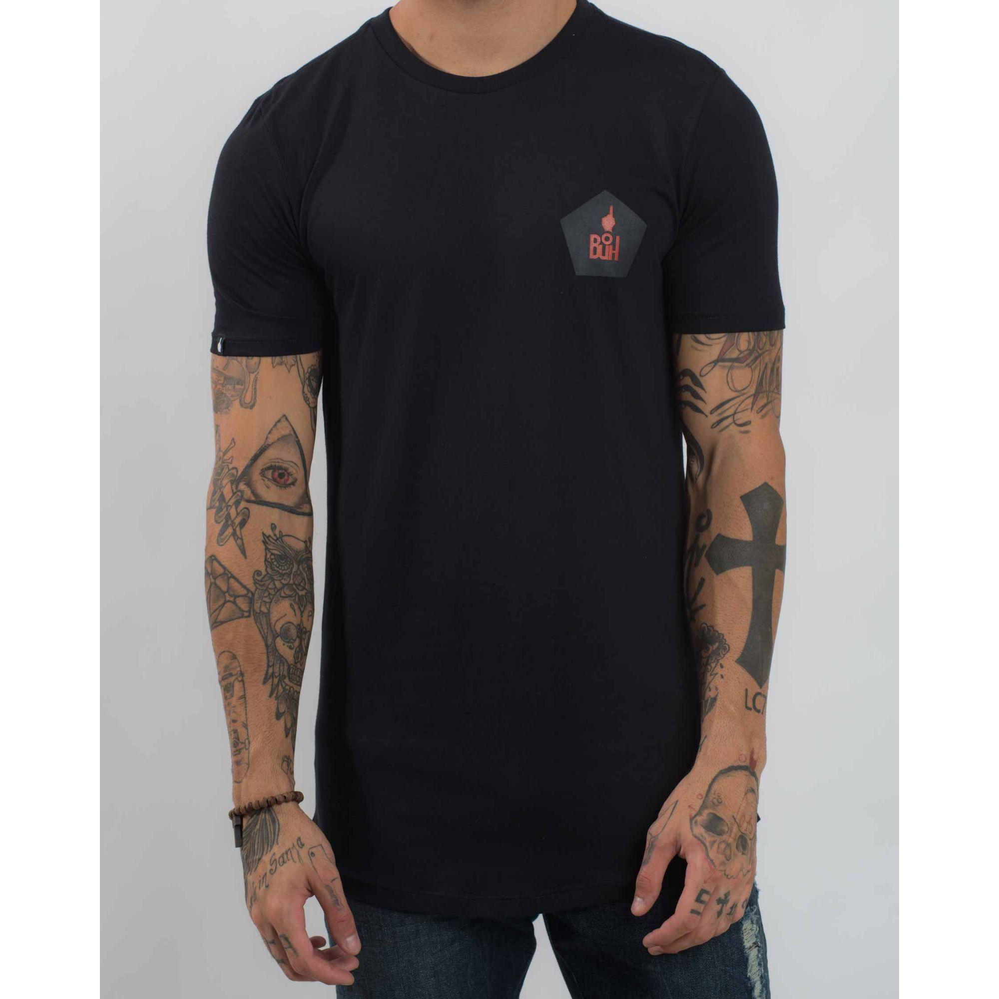 Camiseta Buh Post Soccer Black