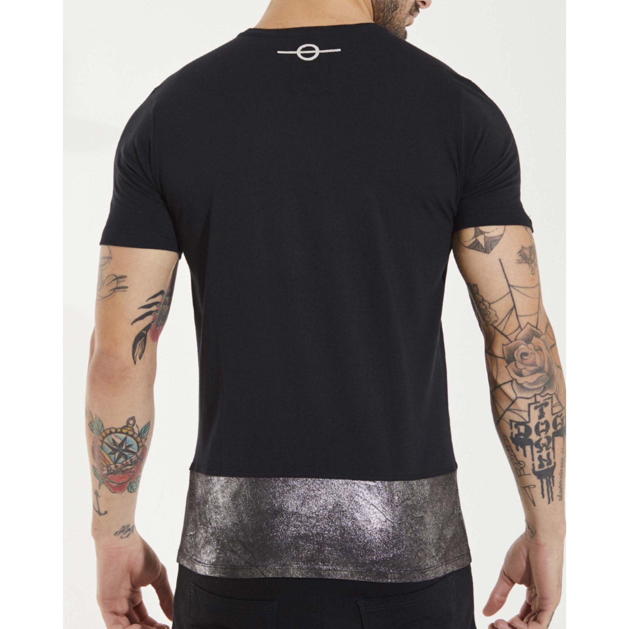 Camiseta Buh Prata Black