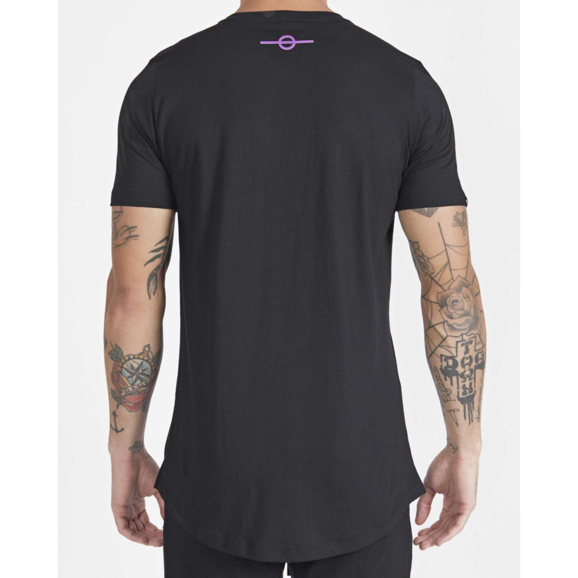 Camiseta Buh Precious Stripes Black