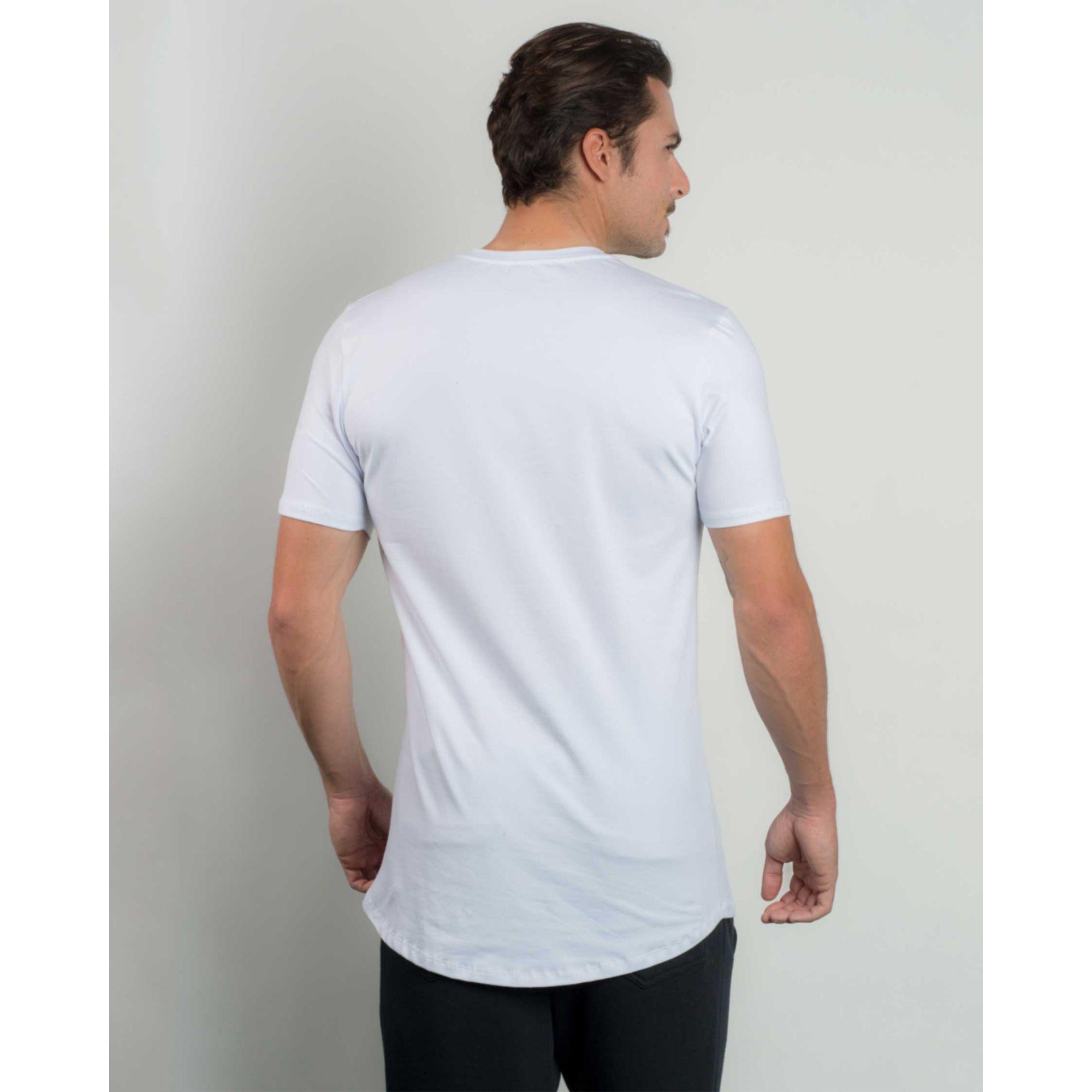 Camiseta Buh Premium Metal White
