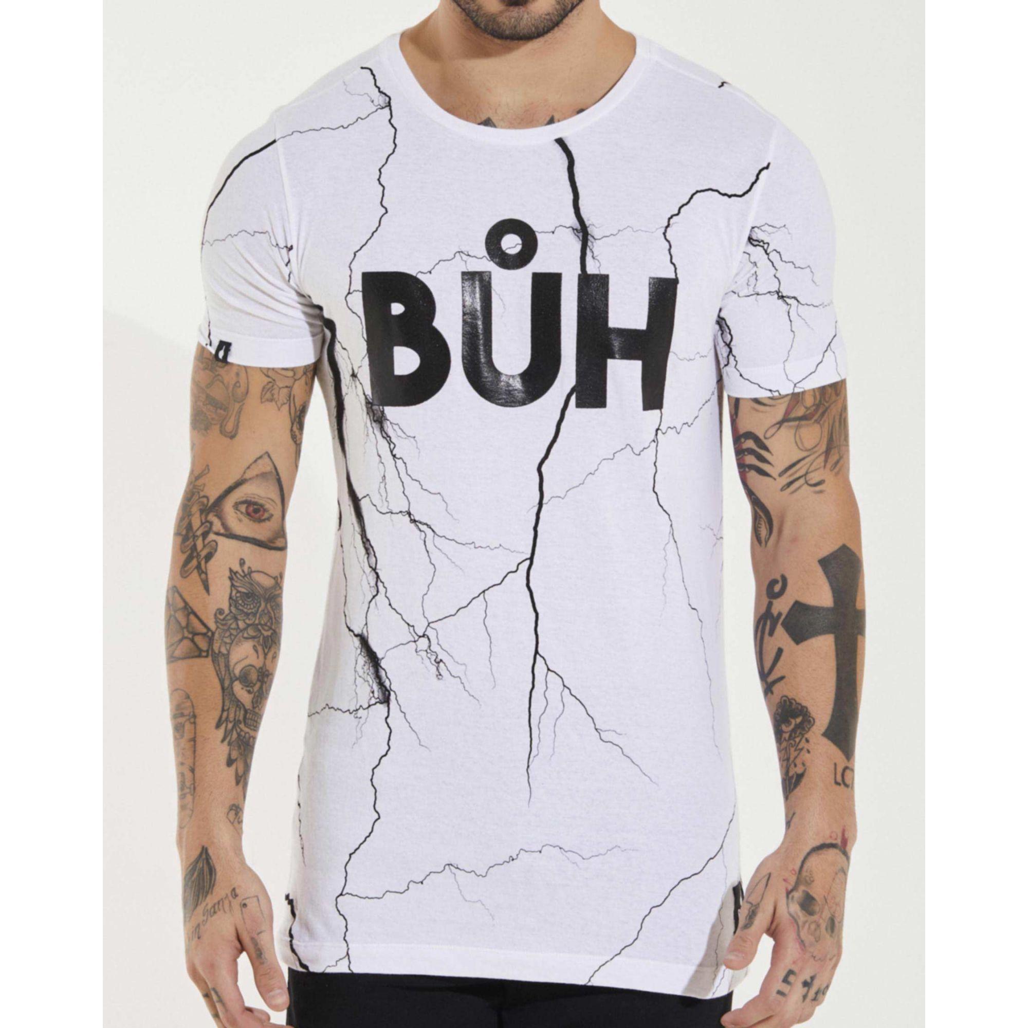 Camiseta Buh Raios White